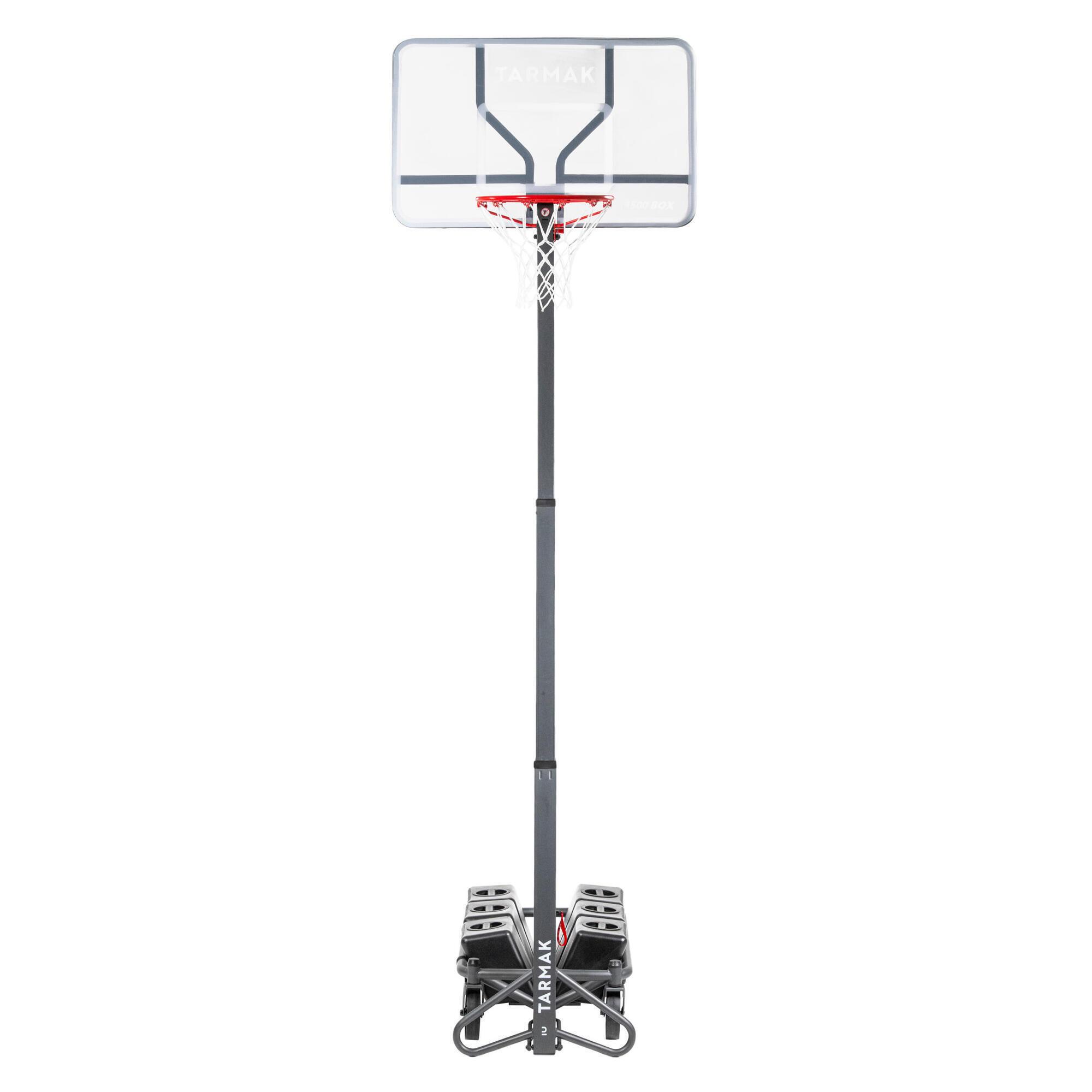 TARMAK Panier de basket enfant/adulte B500. 2,40m à 3,05m. Se règle et se range en 1mn. - TARMAK - SANS TAILLE