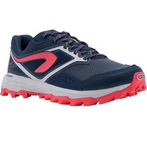Evadict Chaussure de trail running pour femme XT7 bleue foncé et rose - Evadict