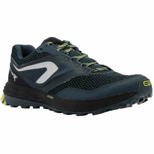 Evadict Chaussures trail running pour homme TR Bleu foncé /Jaune - Evadict - 47 - Publicité