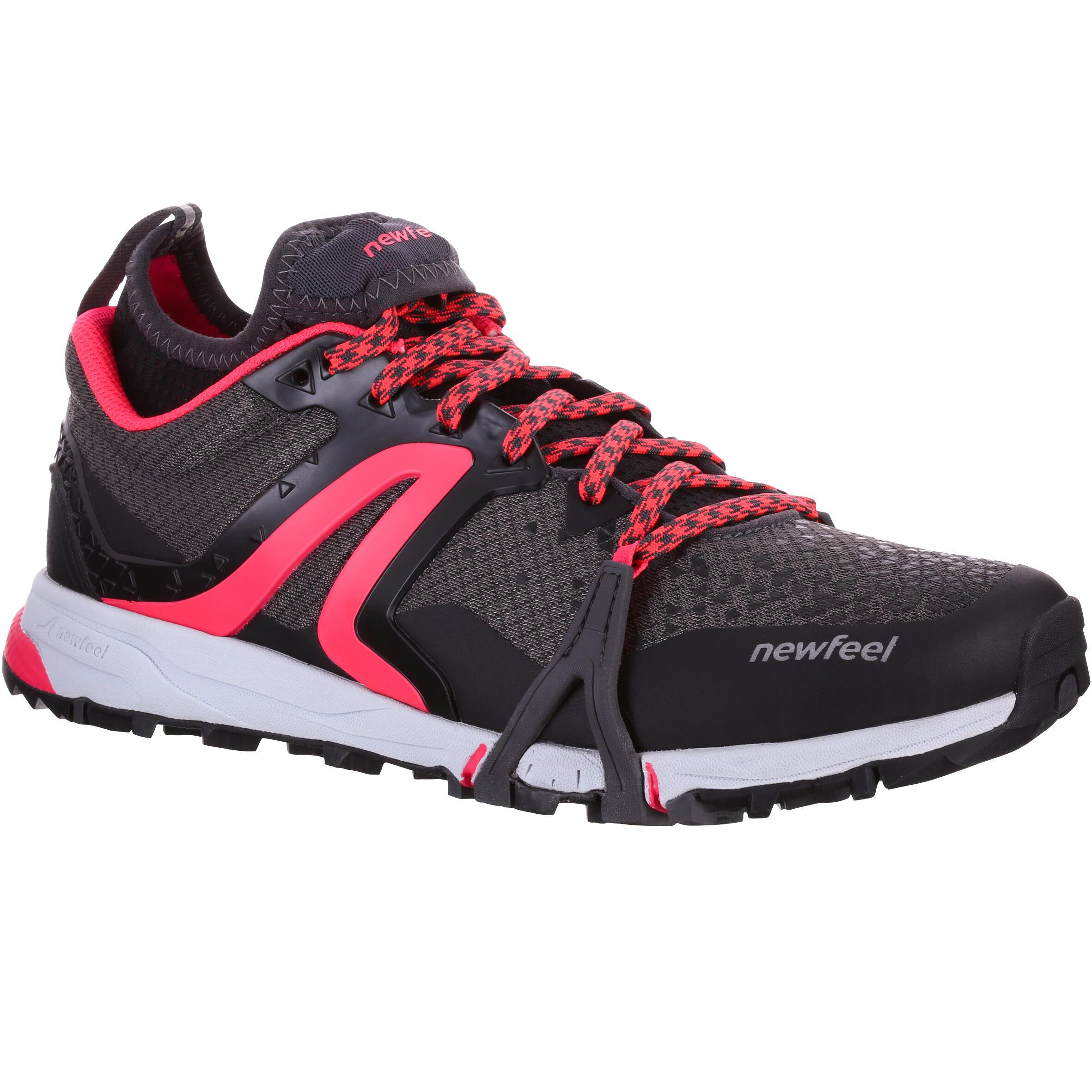 Newfeel Chaussures de marche nordique femme NW 900 Flex-H noir / rose - Newfeel