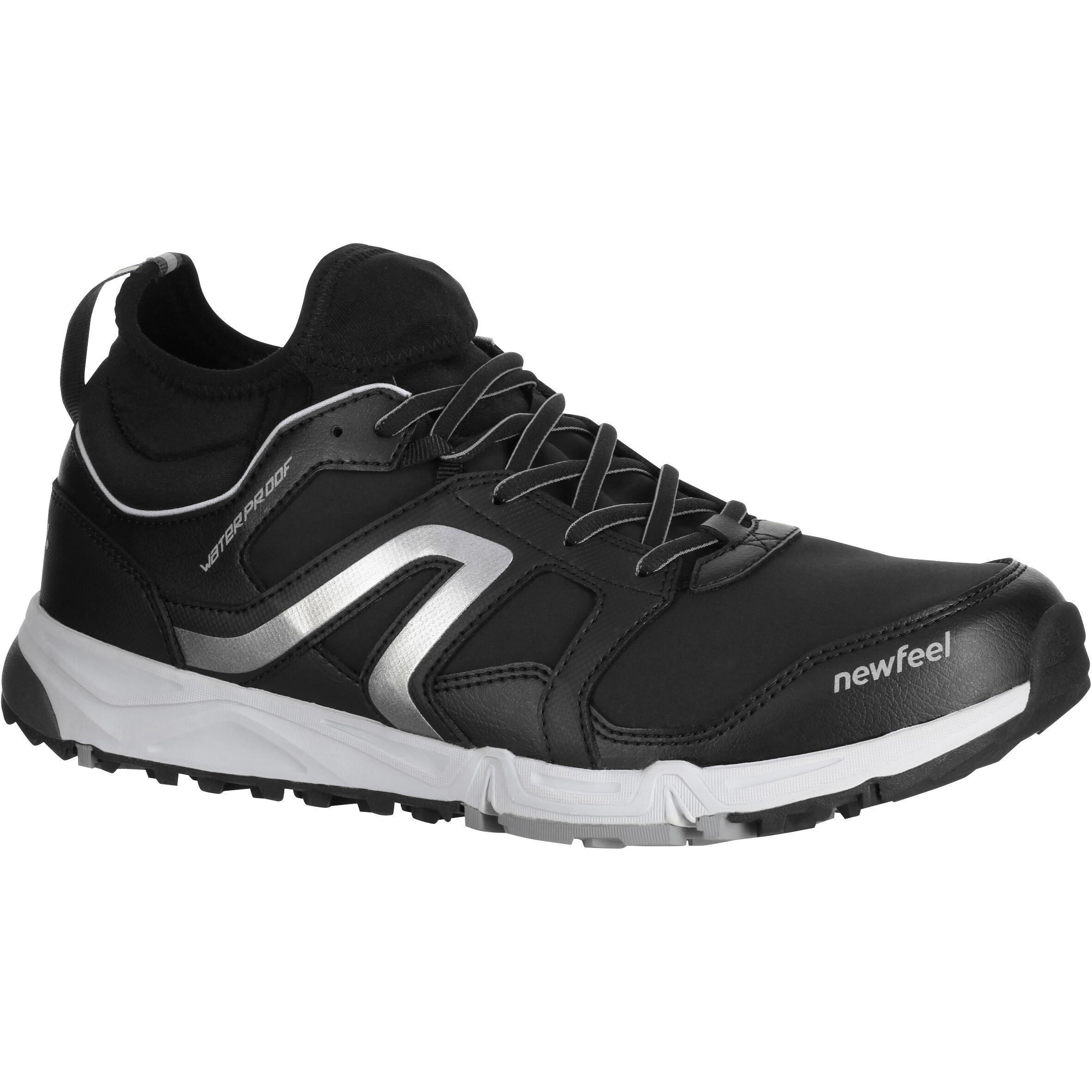 Newfeel Chaussures de marche nordique homme NW 580 Flex-H Waterproof noir - Newfeel