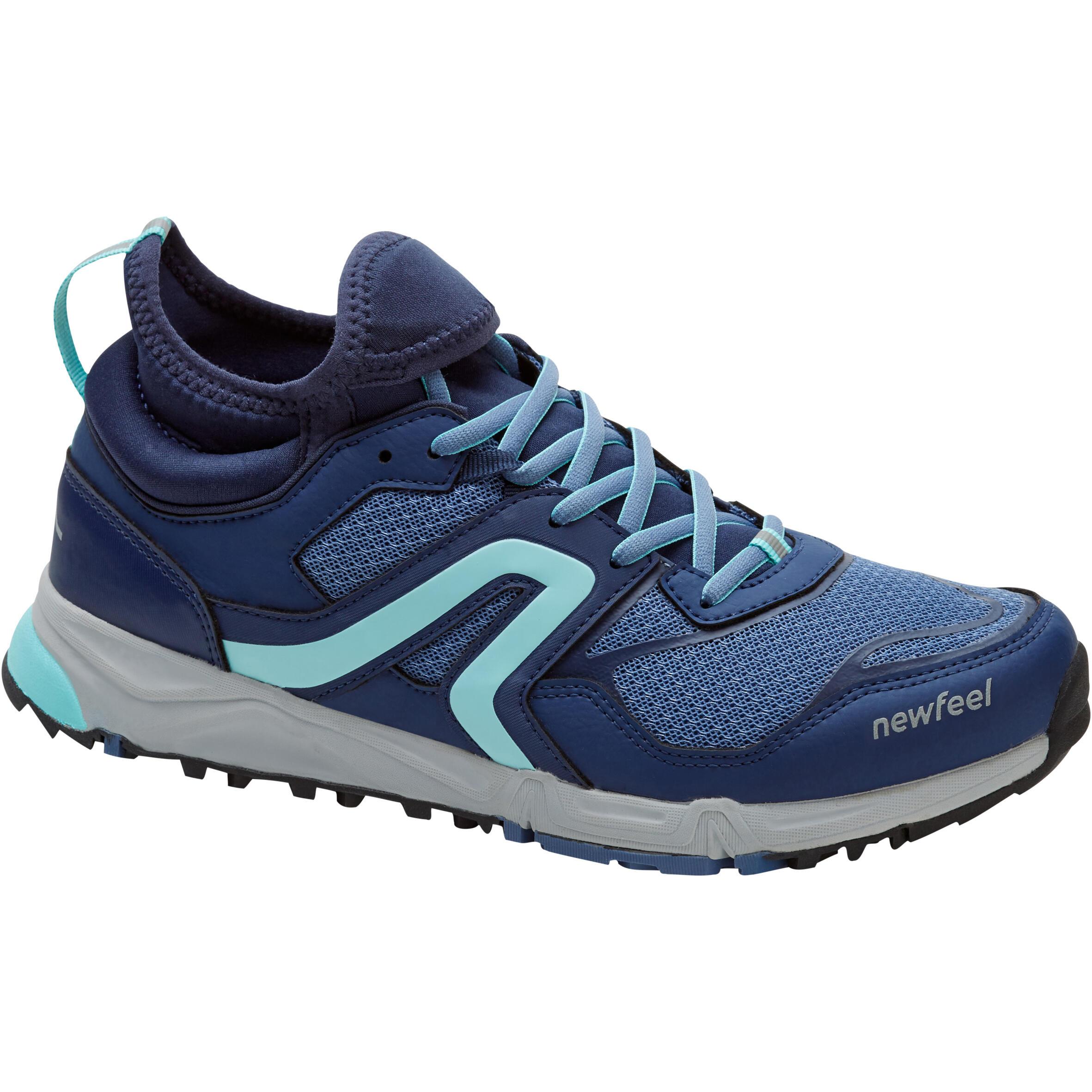 Newfeel Chaussures de marche nordique femme NW 500 Flex-H bleu - Newfeel