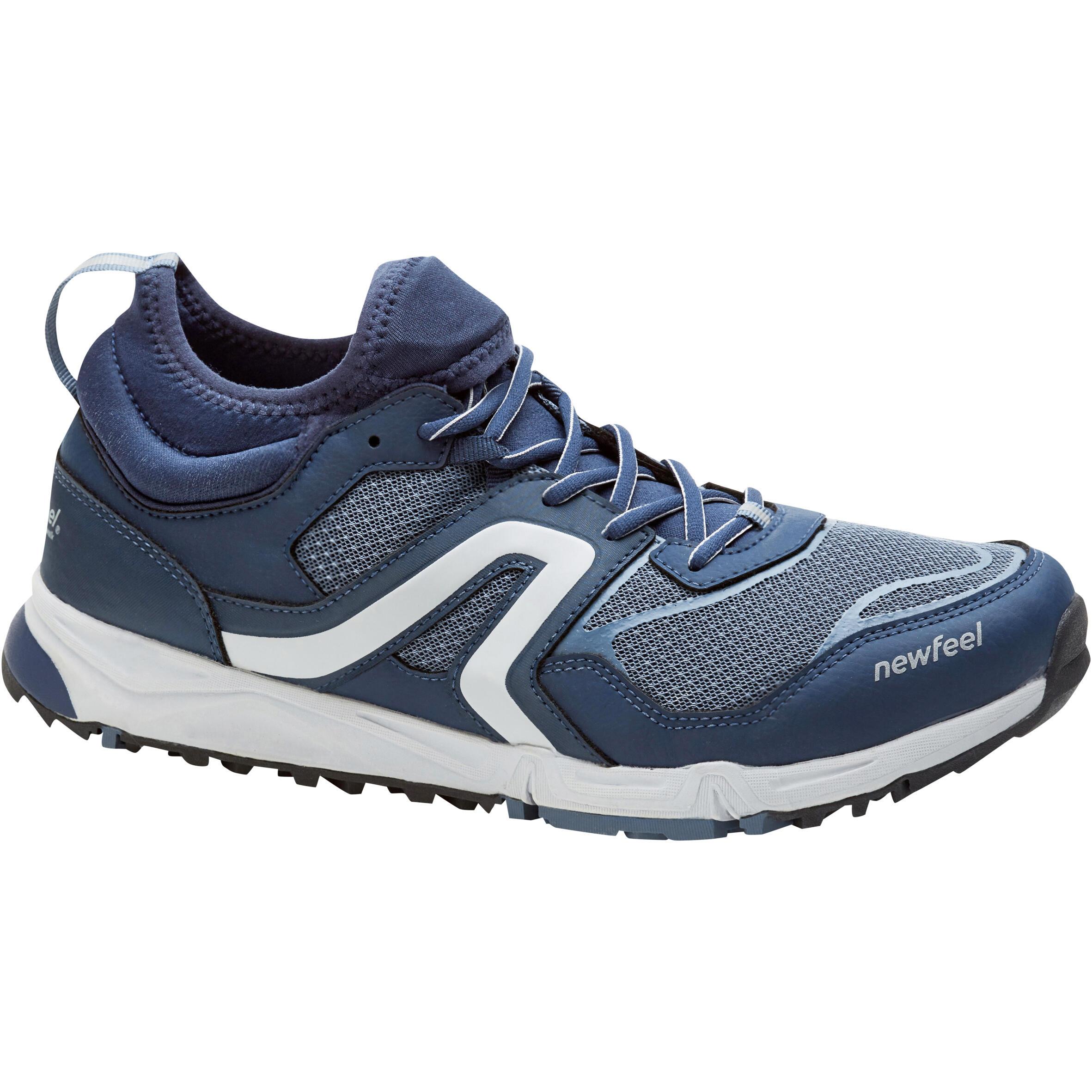 Newfeel Chaussures de marche nordique homme NW 500 Flex-H bleu marine / gris - Newfeel
