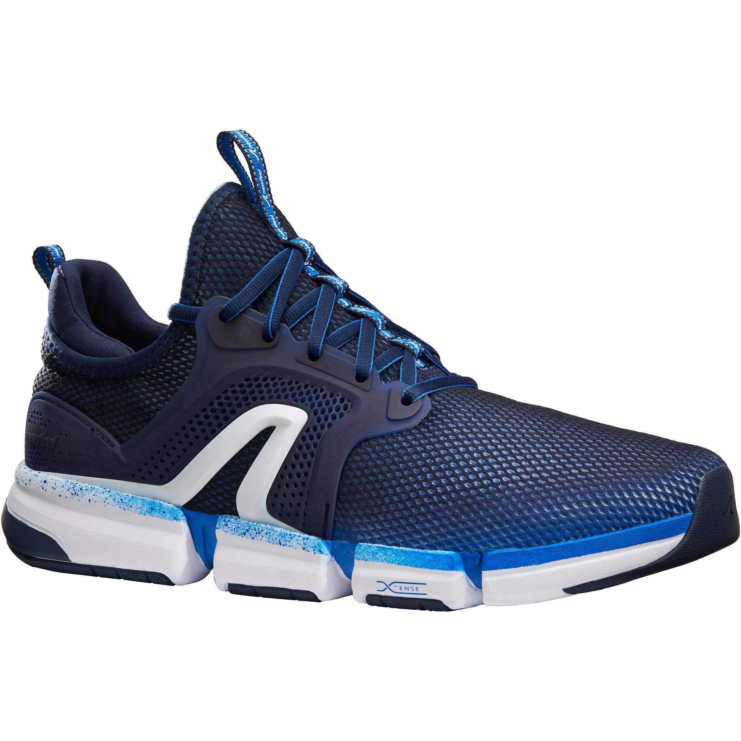 Newfeel Chaussures marche sportive homme PW 590 Xtense marine - Newfeel