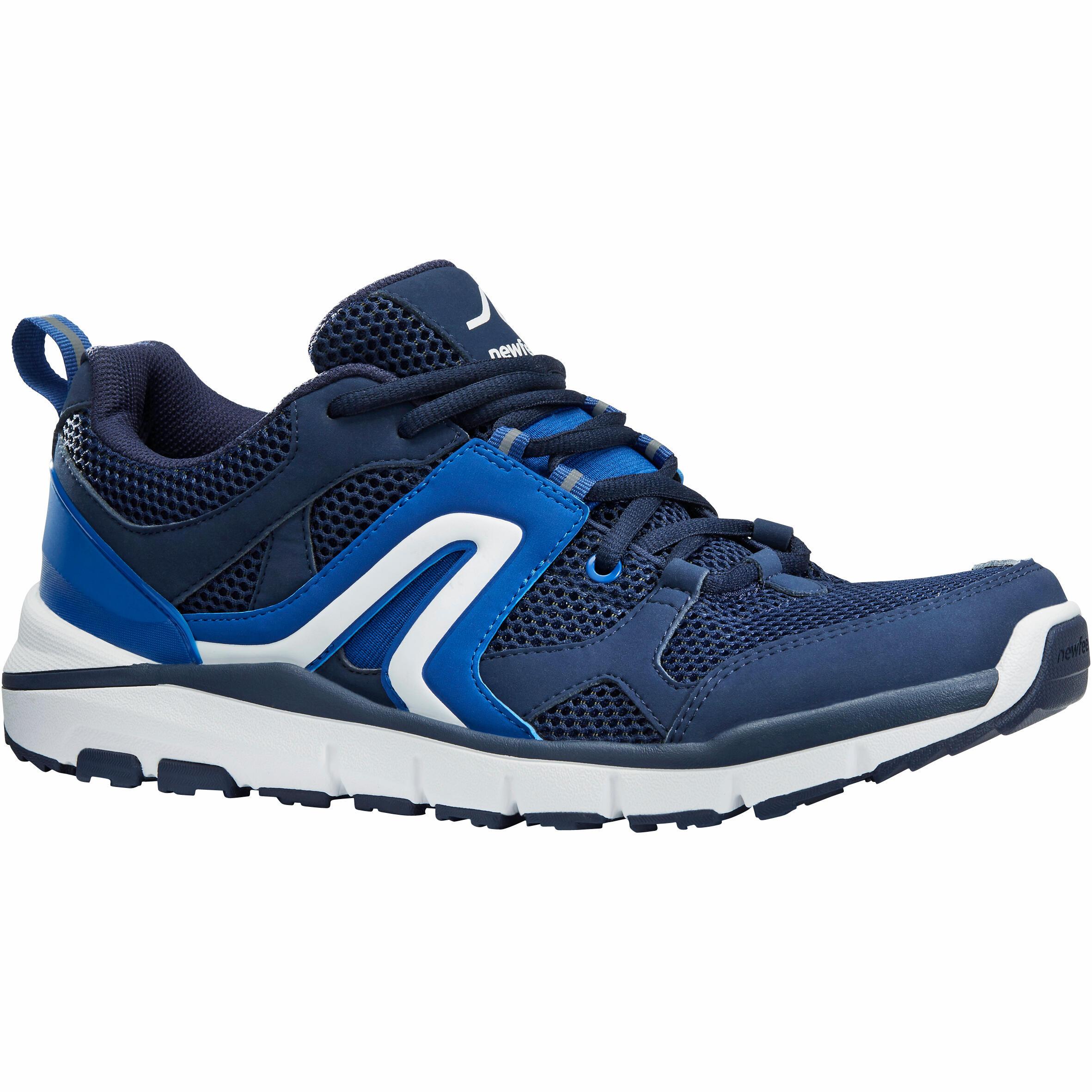 Newfeel Chaussures marche sportive homme HW 500 Mesh marine - Newfeel