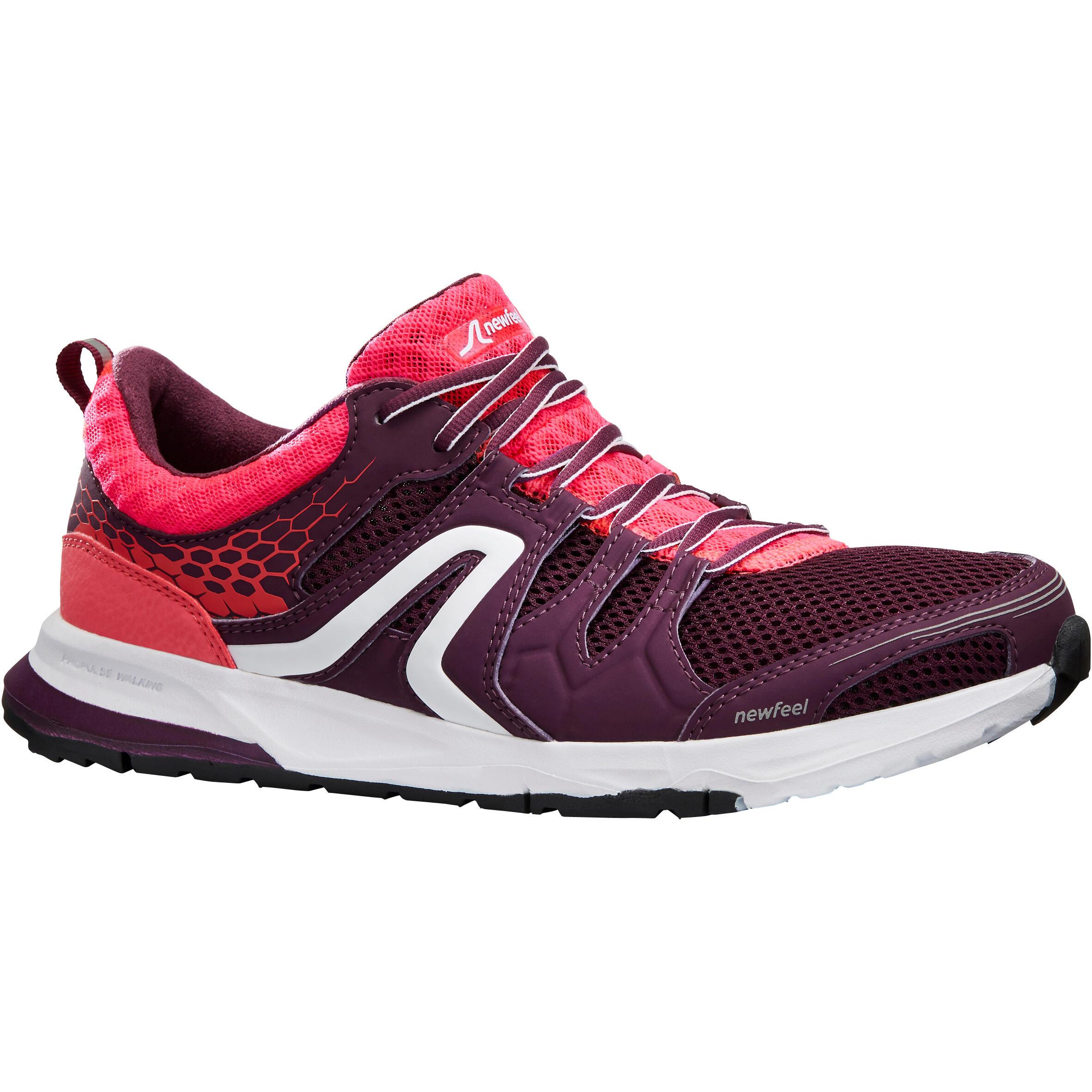 Newfeel Chaussures marche athlétique femme PW 240 violet / rose - Newfeel