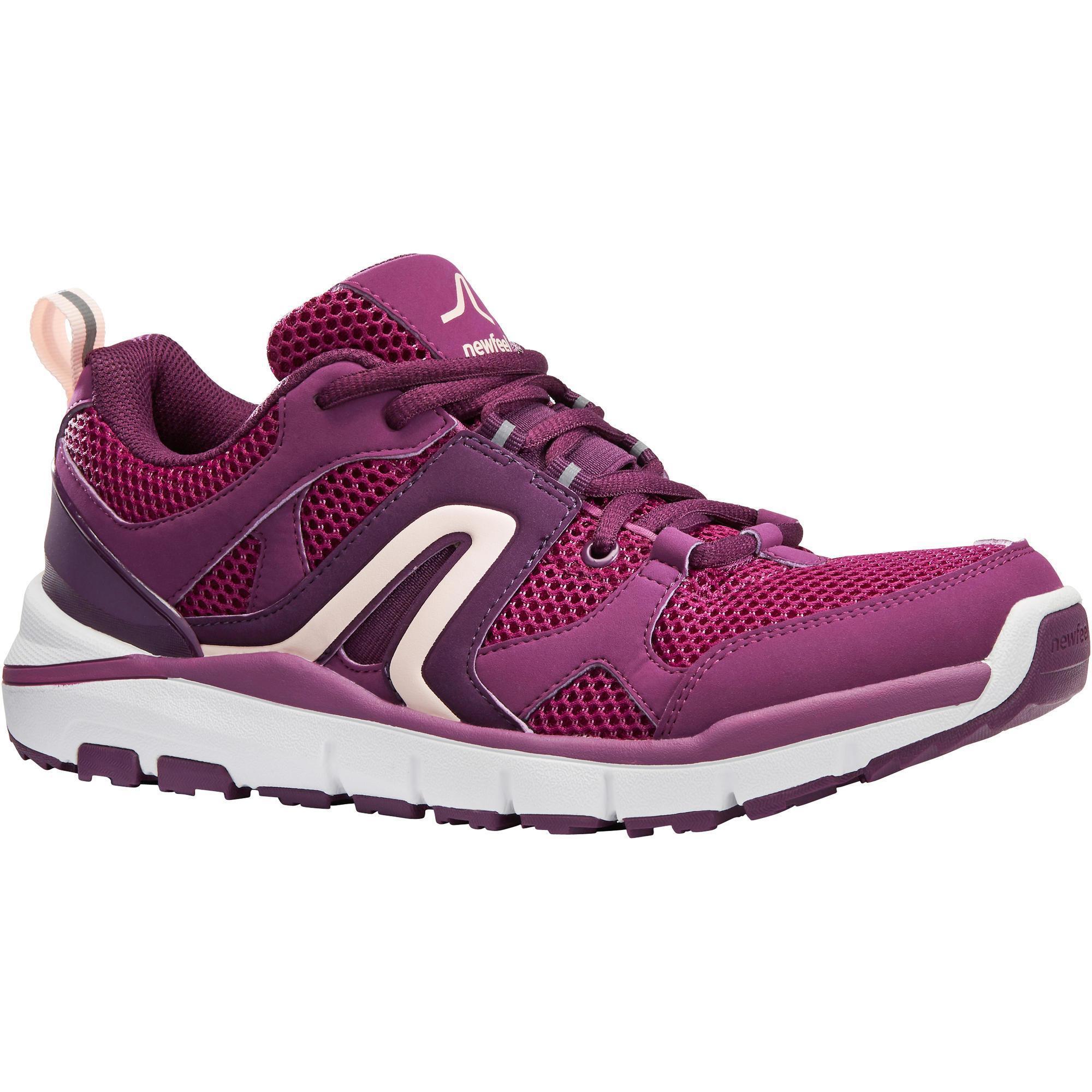 Newfeel Chaussures marche sportive femme HW 500 Mesh violet - Newfeel