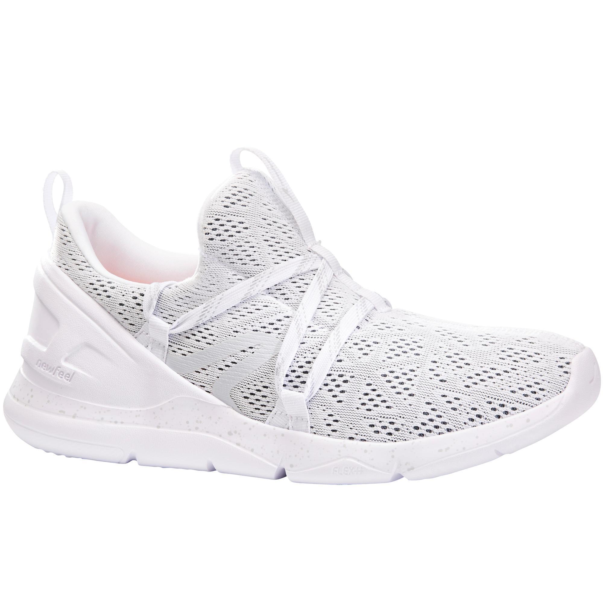 Newfeel Chaussures marche sportive femme PW 140 blanc - Newfeel