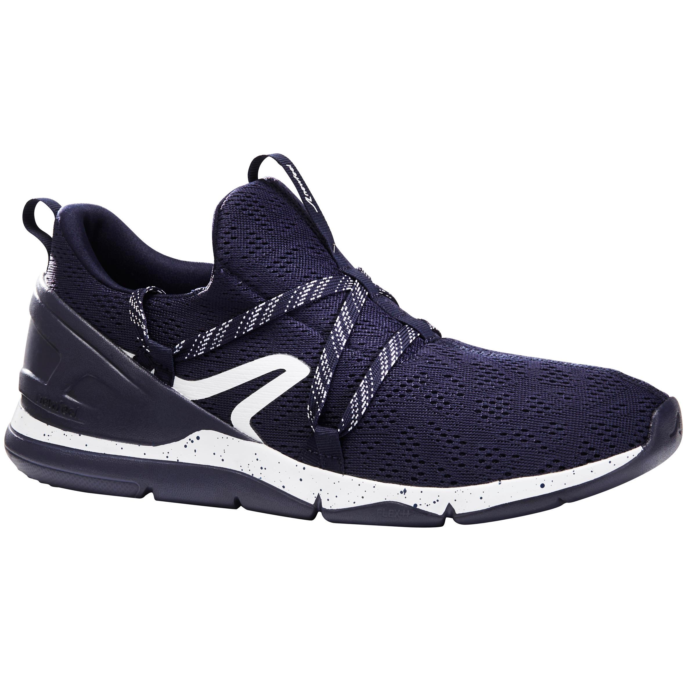 Newfeel Chaussures marche sportive homme PW 140 bleu / blanc - Newfeel