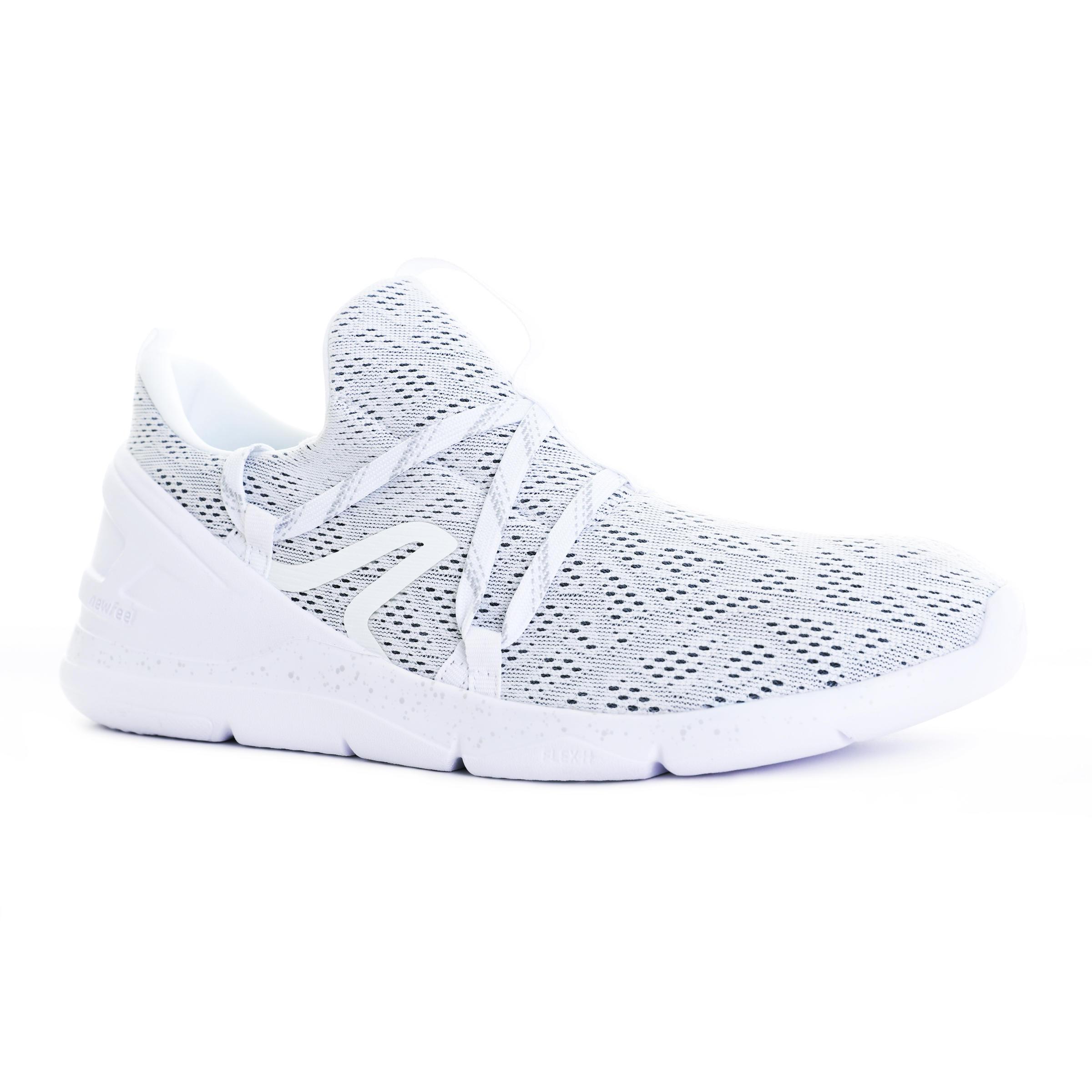 Newfeel Chaussures marche sportive homme PW 140 blanc - Newfeel