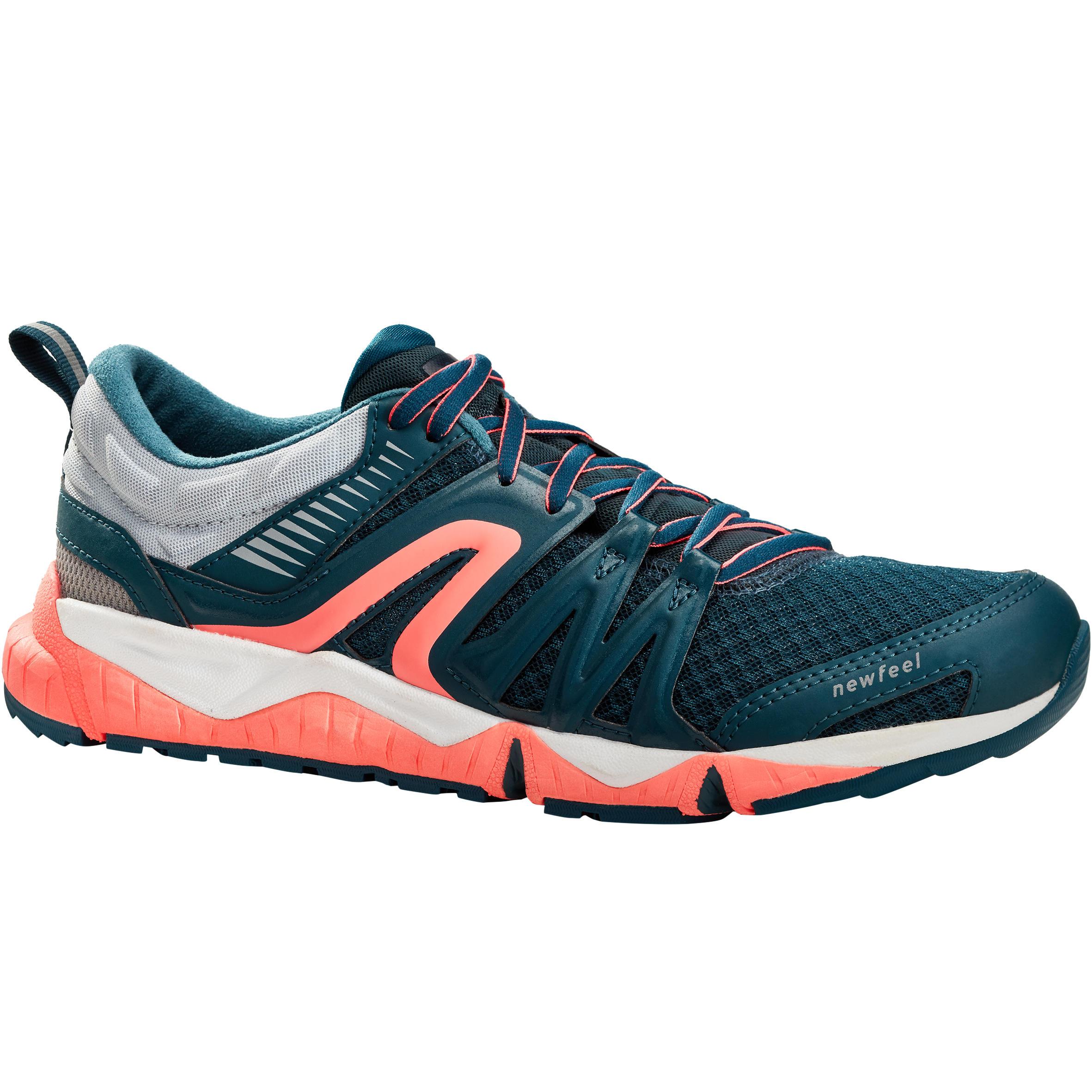 Newfeel Chaussures marche sportive femme PW 900 Propulse Motion bleu grisé - Newfeel