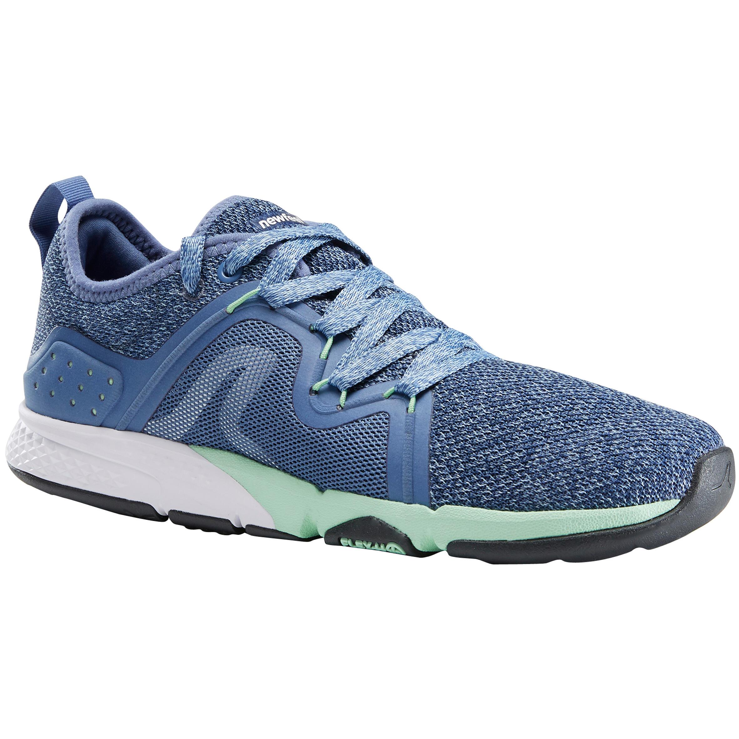 Newfeel Chaussures marche sportive femme PW 540 Flex-H+ bleu - Newfeel
