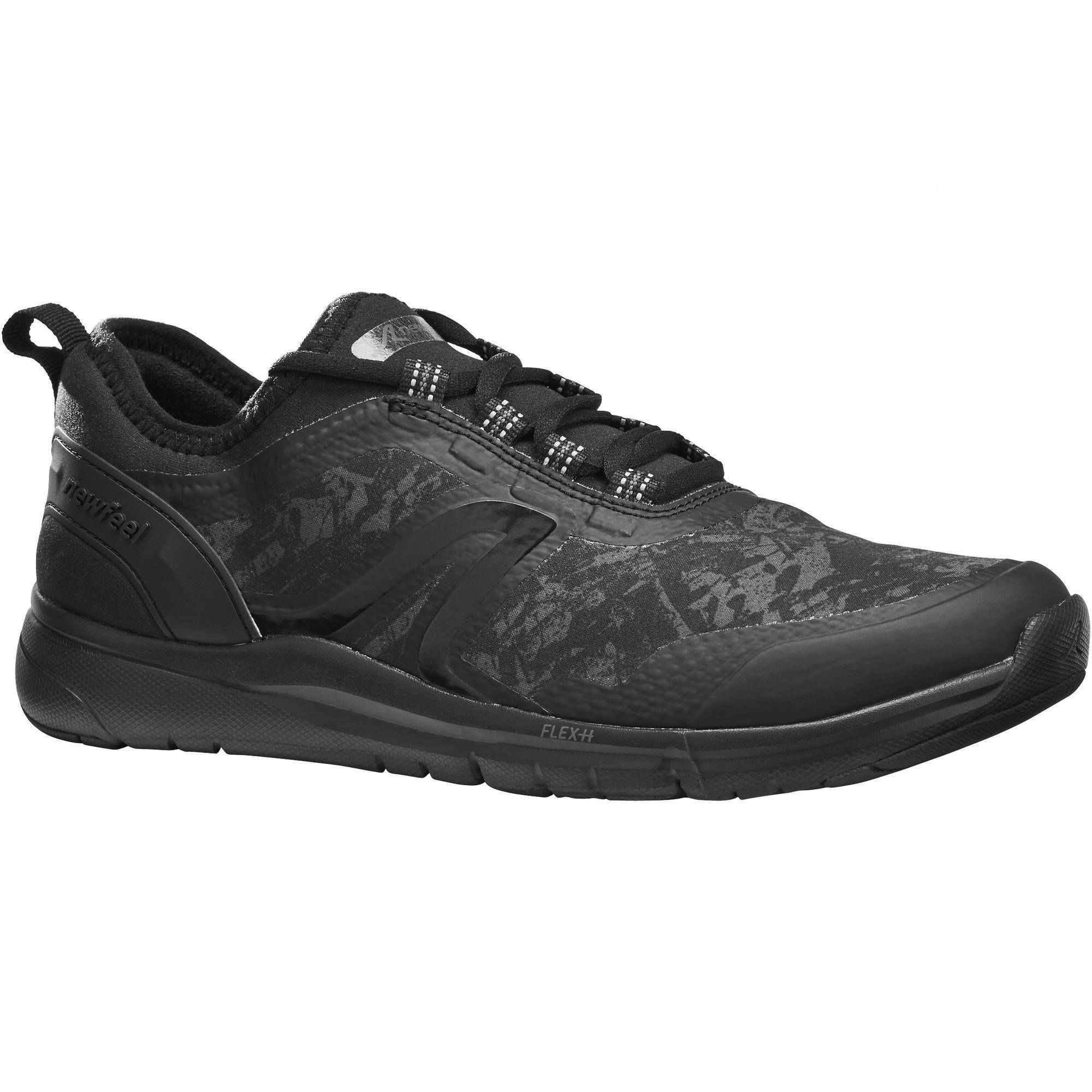 Newfeel Chaussures marche sportive femme PW 580 WaterResist noir - Newfeel