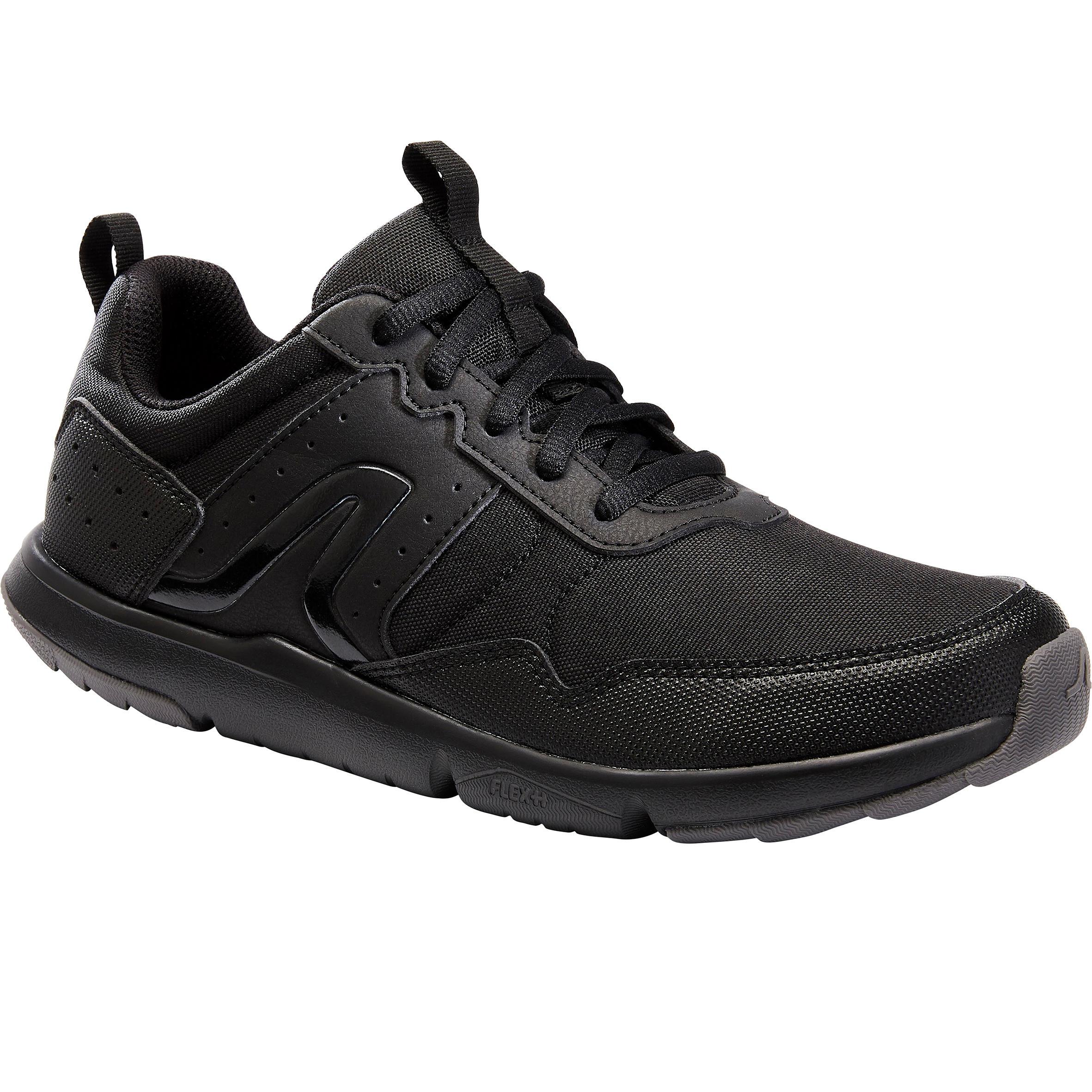 Newfeel Chaussures marche sportive femme Fitwalk Resist noir - Newfeel