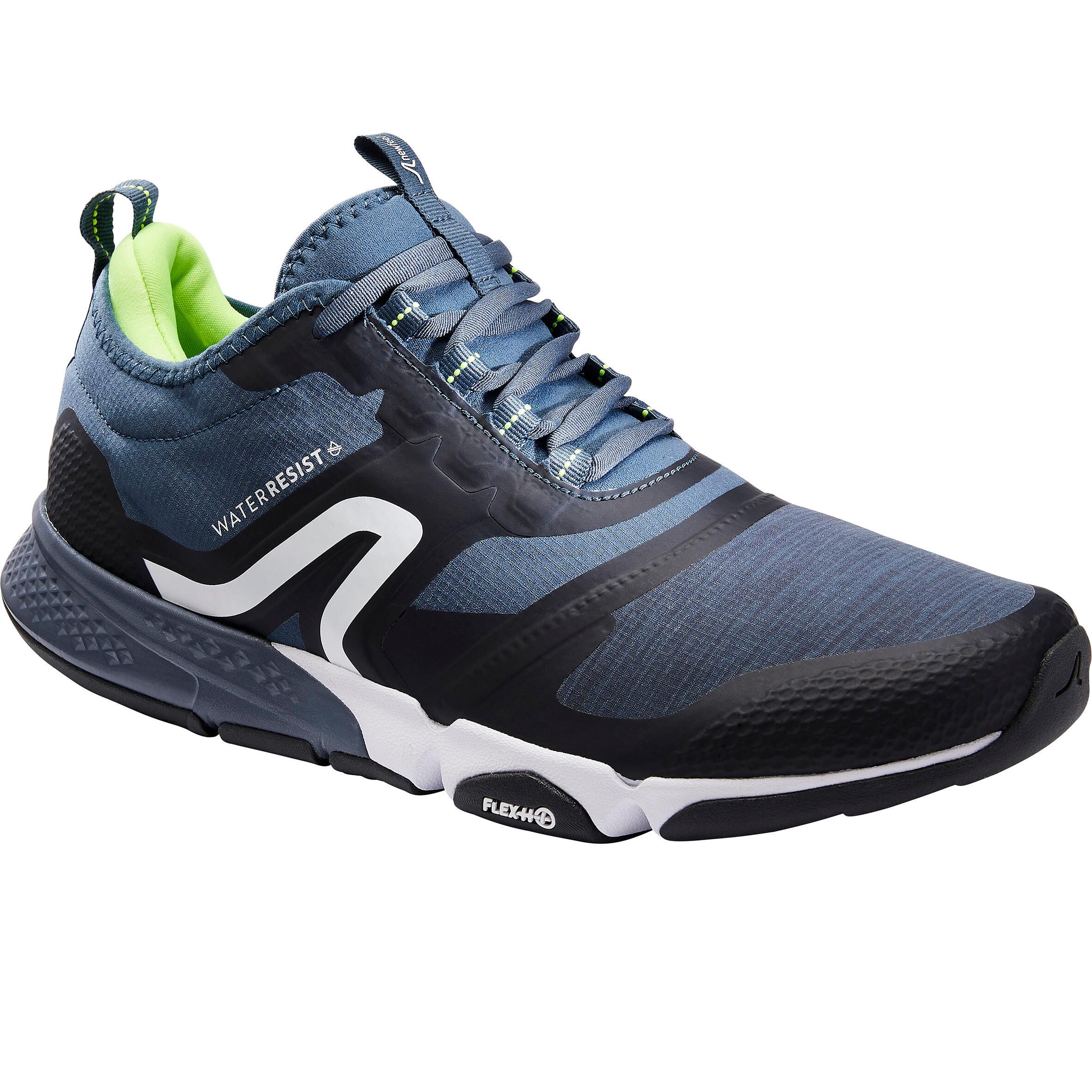 Newfeel Chaussures marche sportive homme PW 580 WaterResist bleu - Newfeel