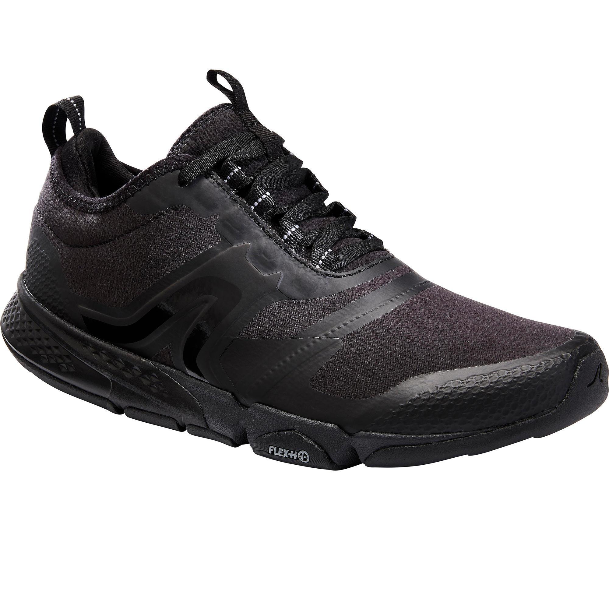 Newfeel Chaussures marche sportive homme PW 580 WaterResist noir - Newfeel