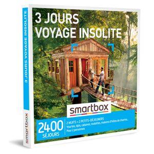 Smartbox 3 joursvoyage insolite Coffret cadeau Smartbox - Publicité