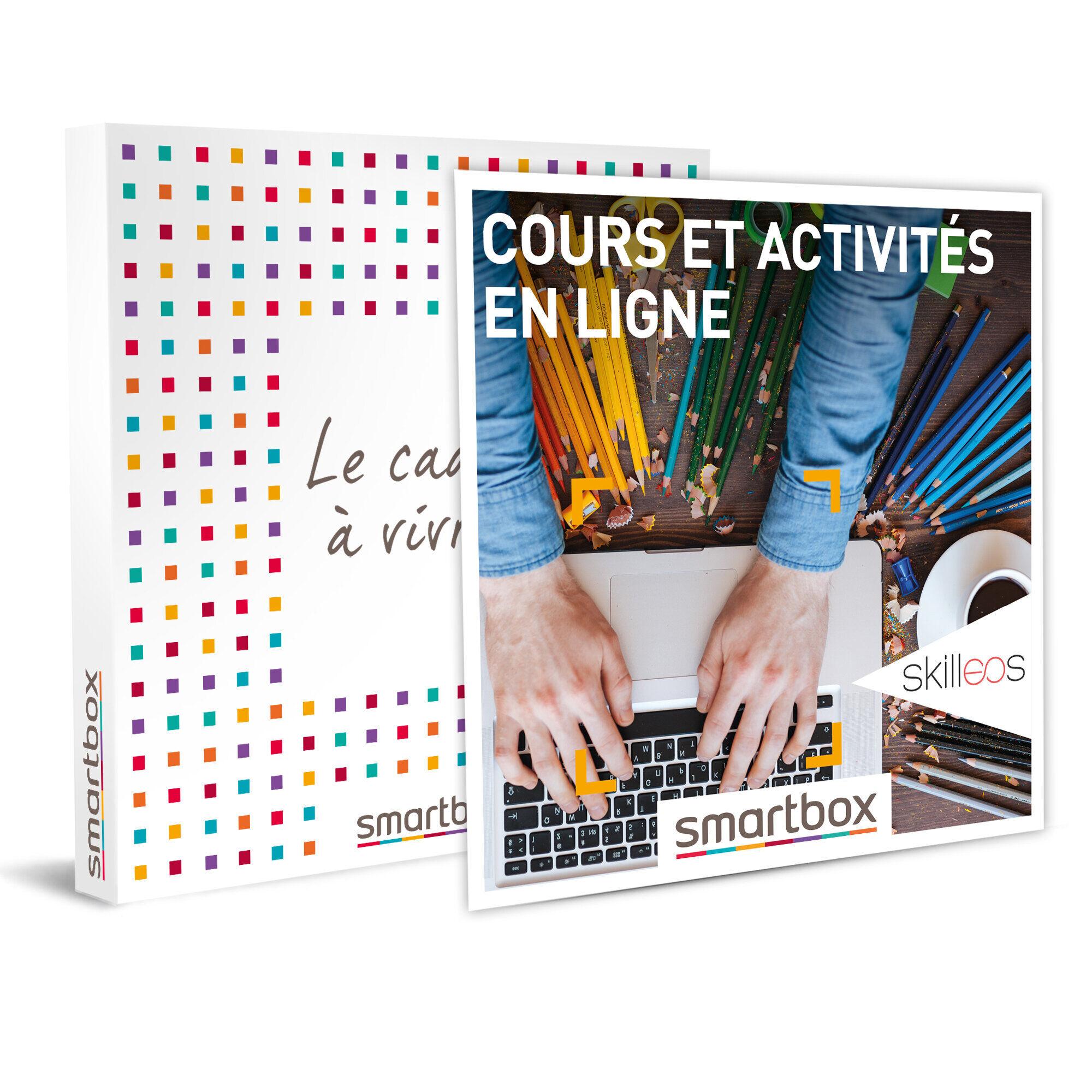 Smartbox Cours et activités en ligne Coffret cadeau Smartbox