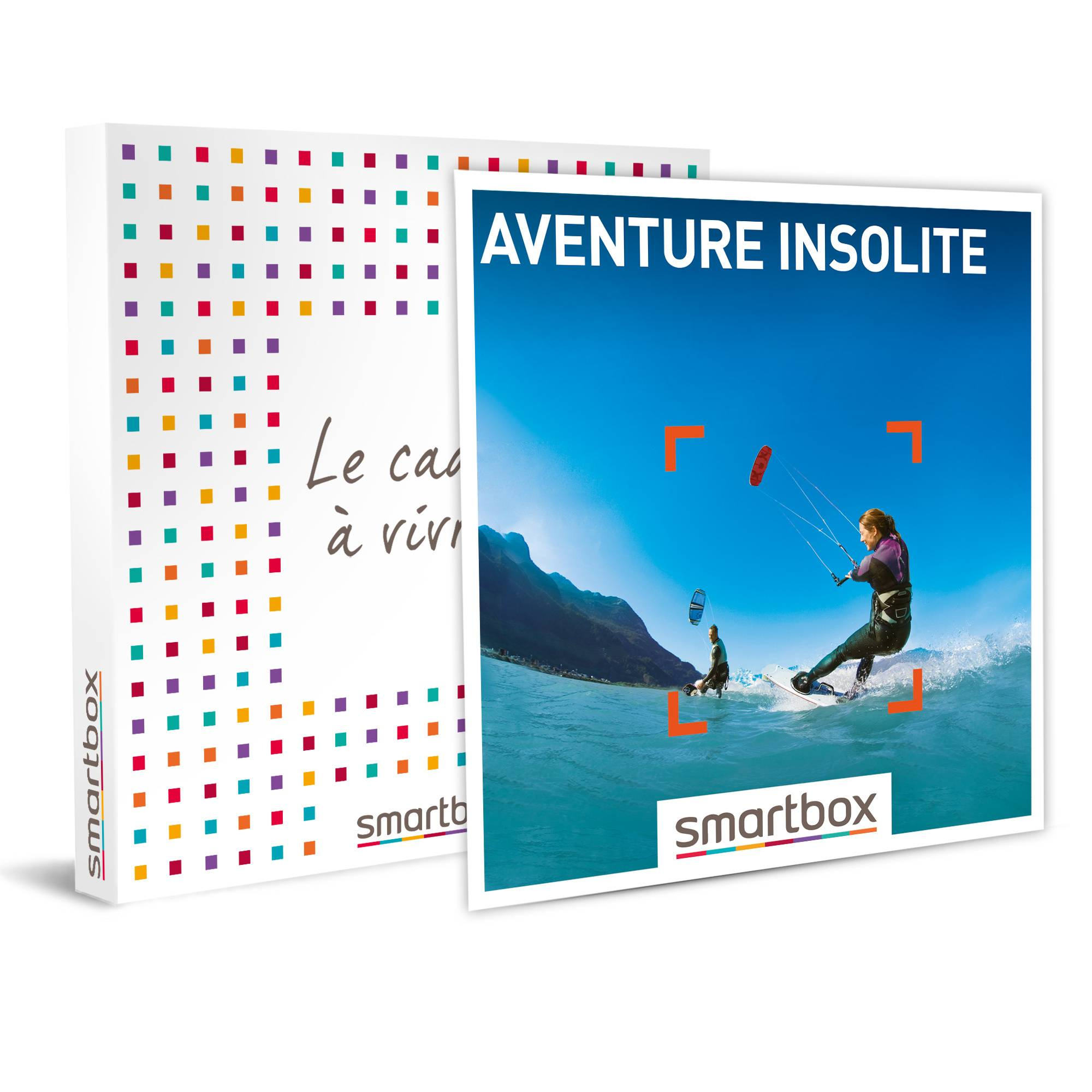 Smartbox Aventure insolite Coffret cadeau Smartbox