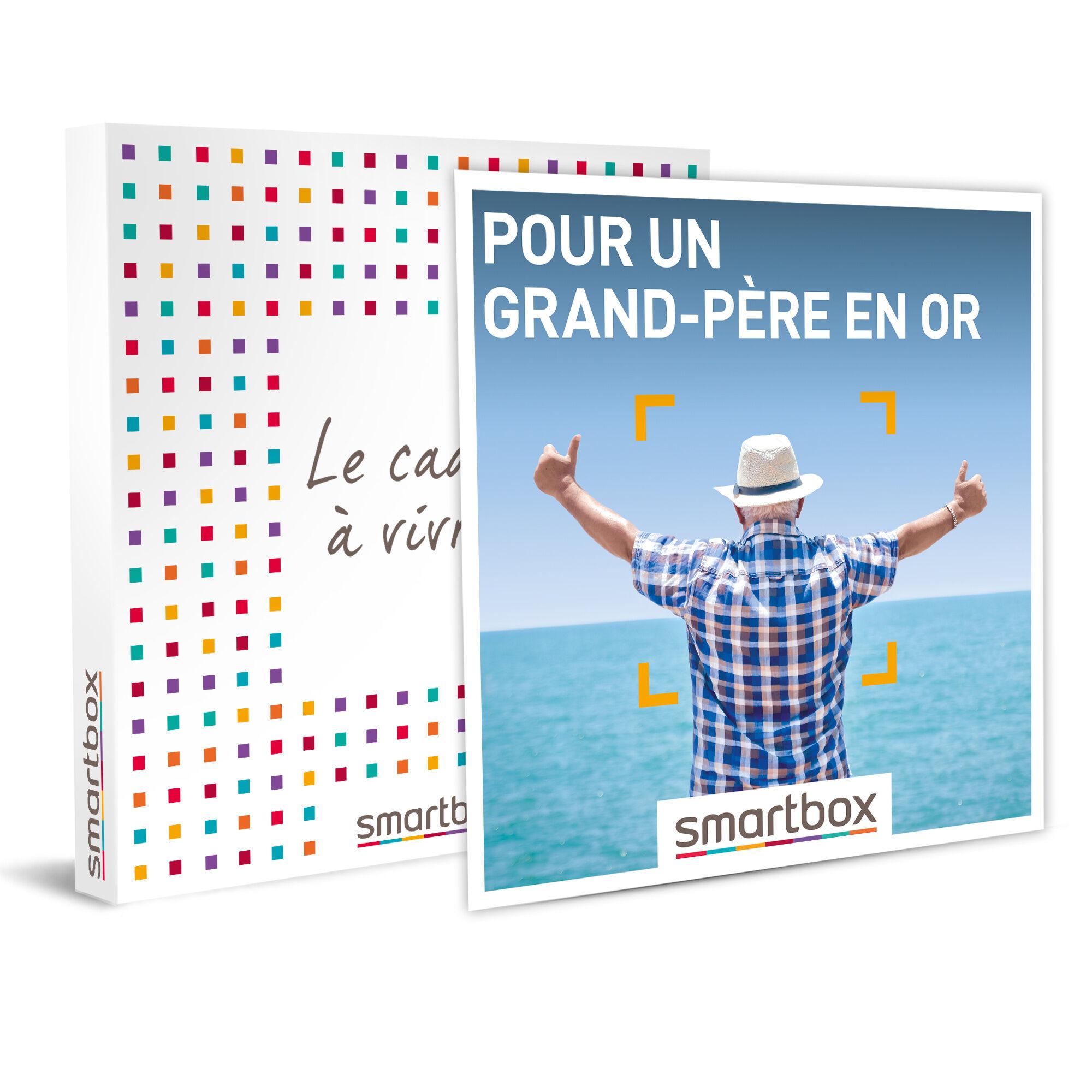 Smartbox Pour un grand-père en or Coffret cadeau Smartbox