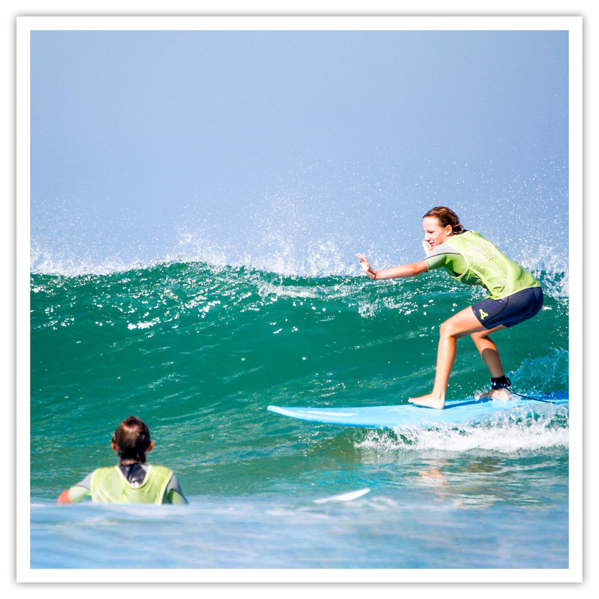 Smartbox Cours de surf et location de matériel à Seignosse dans les Landes Coffret cadeau Smartbox