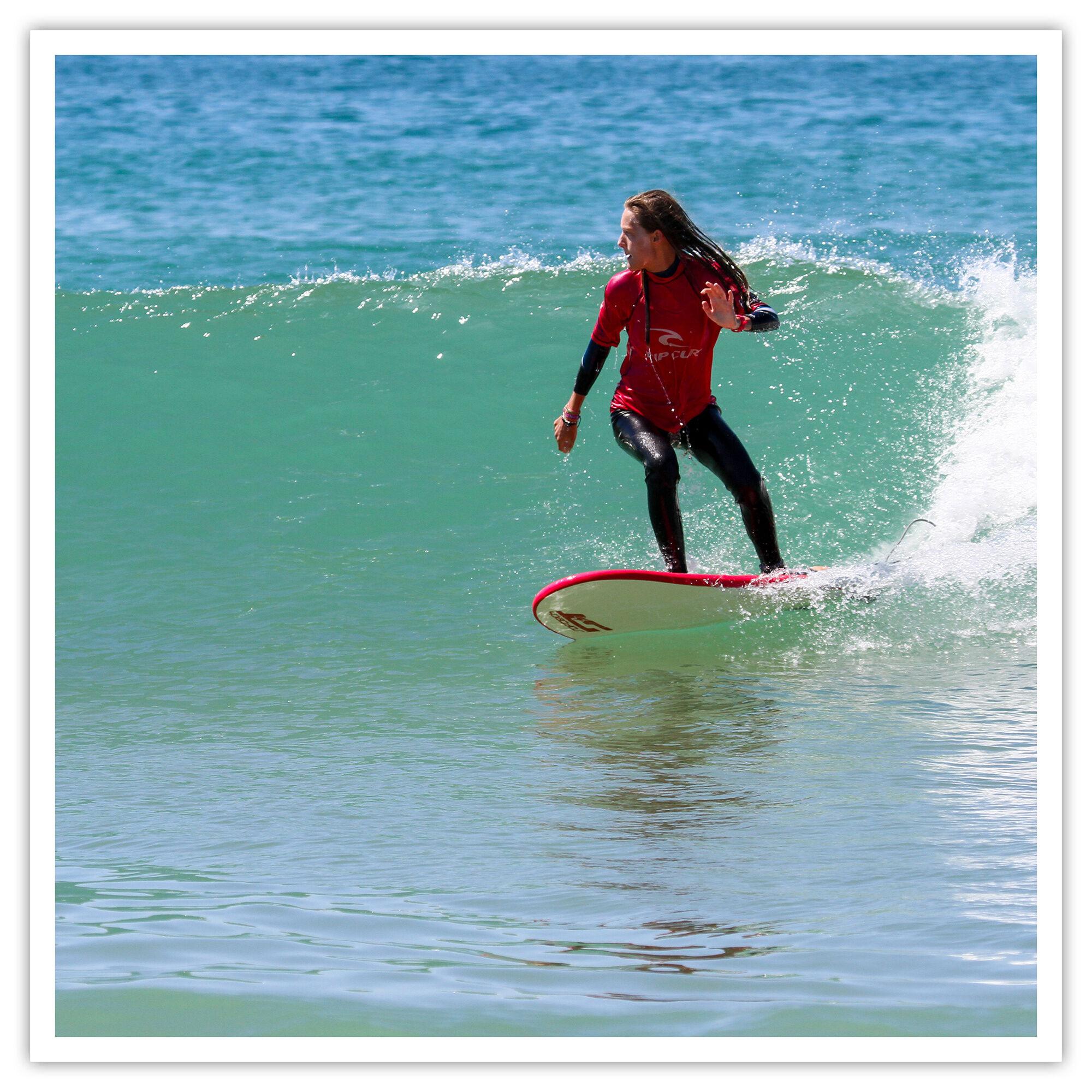 Smartbox Cours de surf avec location de planche à Hossegor Coffret cadeau Smartbox