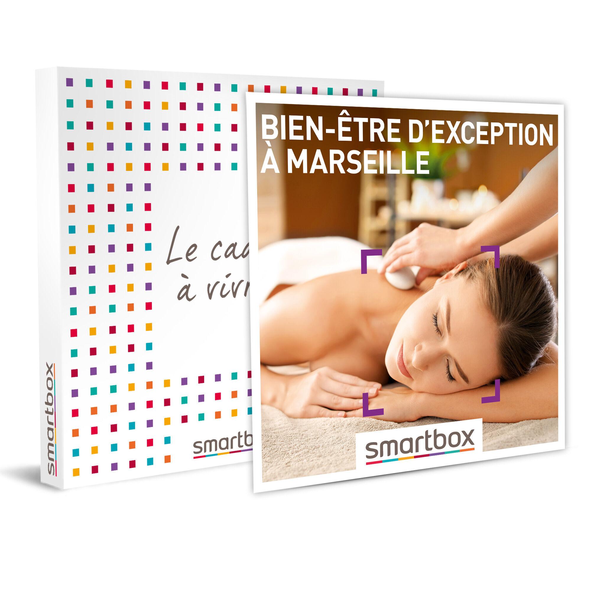 Smartbox Bien-être d'exception à Marseille Coffret cadeau Smartbox
