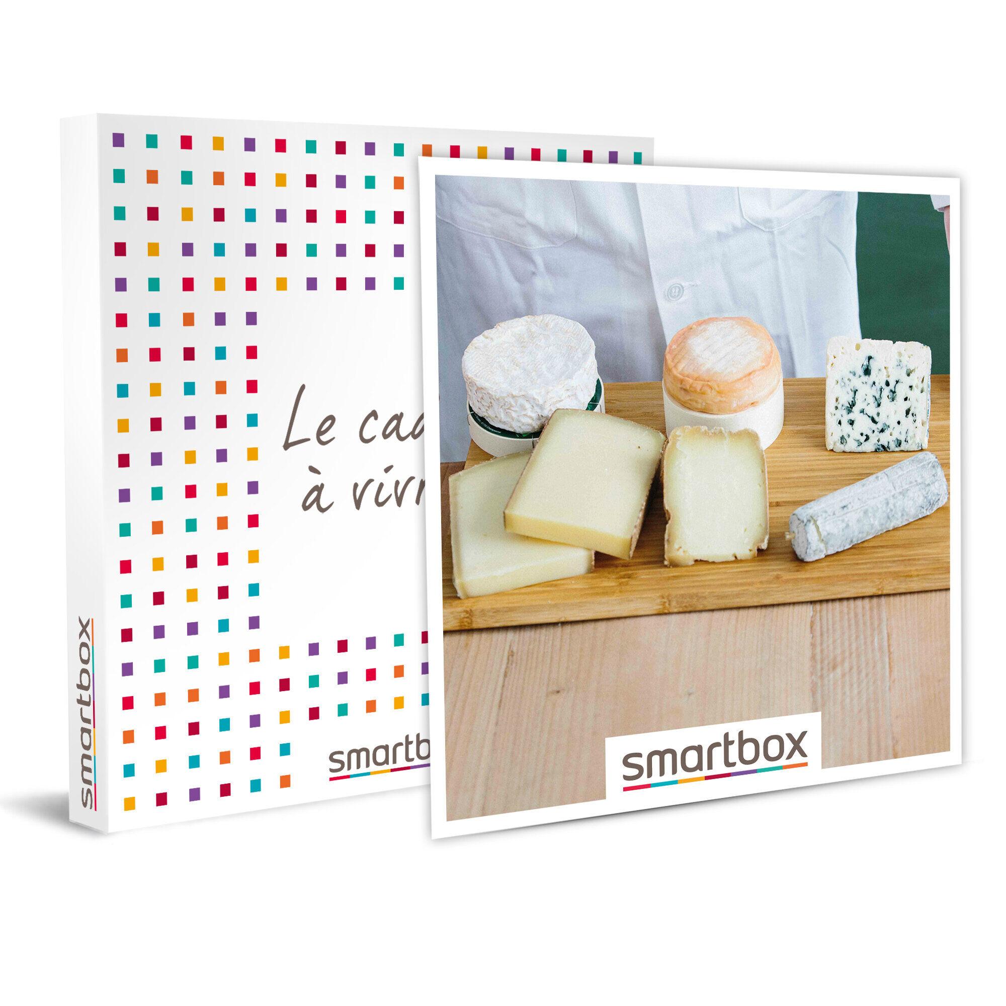 Smartbox Atelier-dégustation de 2h de 6 fromages avec Le Cheese Geek à Paris Coffret cadeau Smartbox