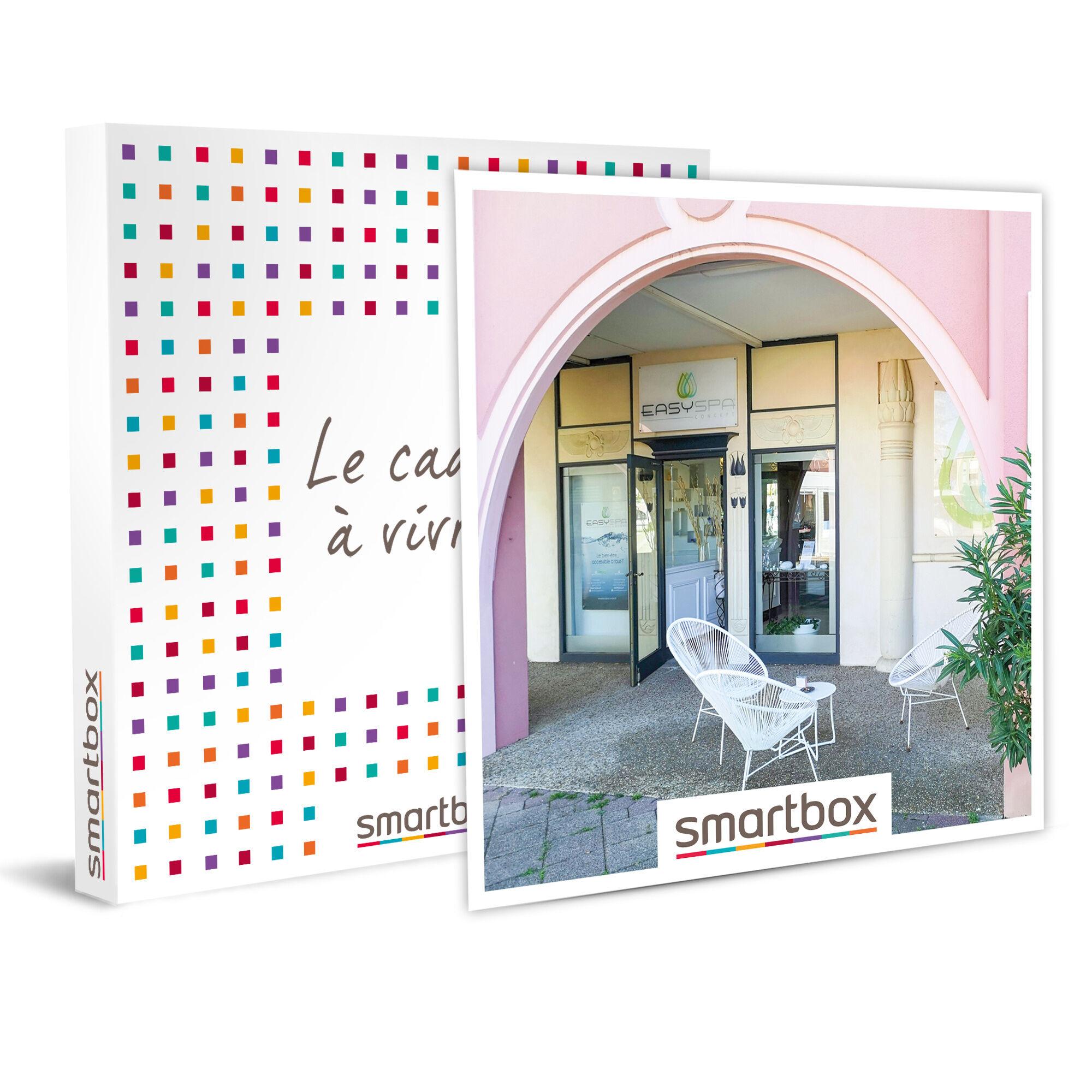 Smartbox Demi-journée bien-être pour 2 avec modelage et repas grâce à Easy Spa Concept Coffret cadeau Smartbox