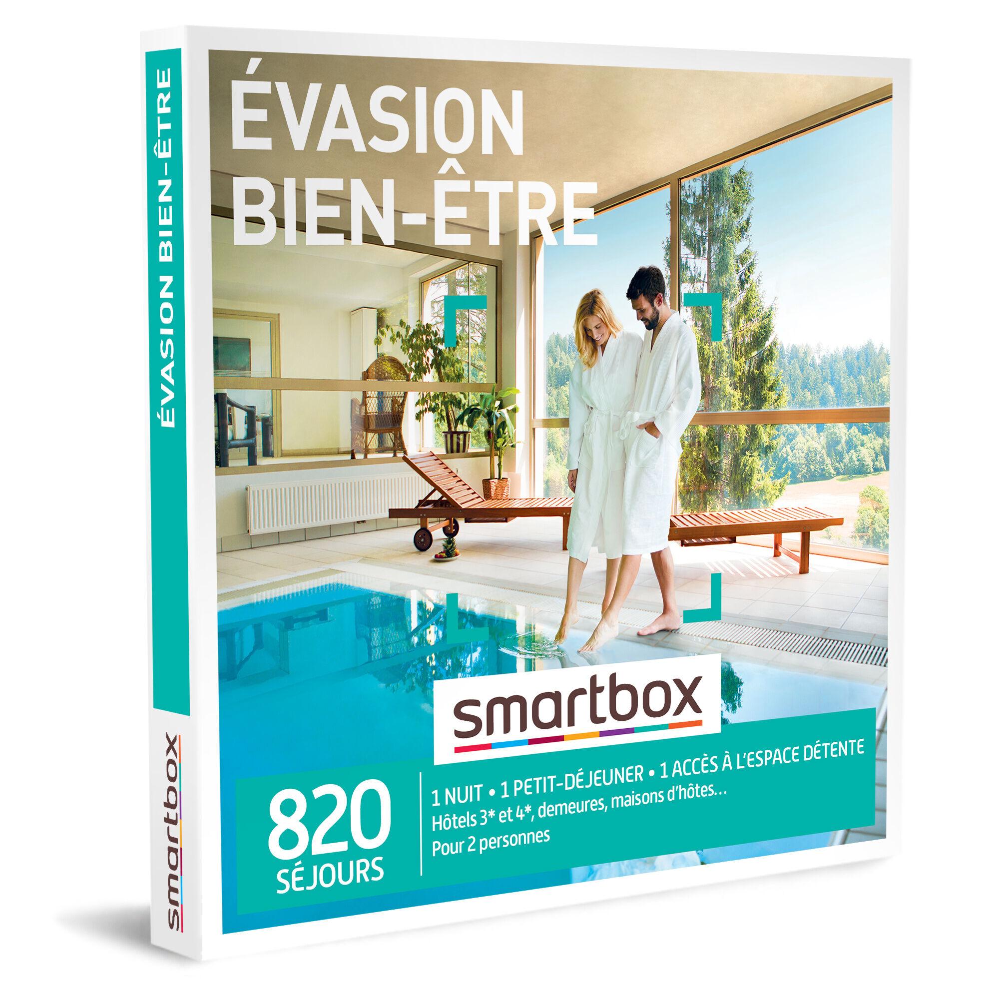 Smartbox Évasion bien-être Coffret cadeau Smartbox
