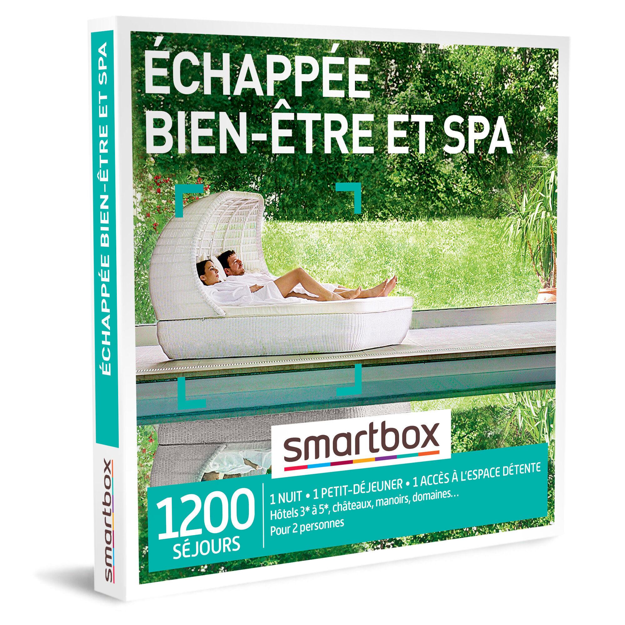 Smartbox Échappée bien-être et spa Coffret cadeau Smartbox