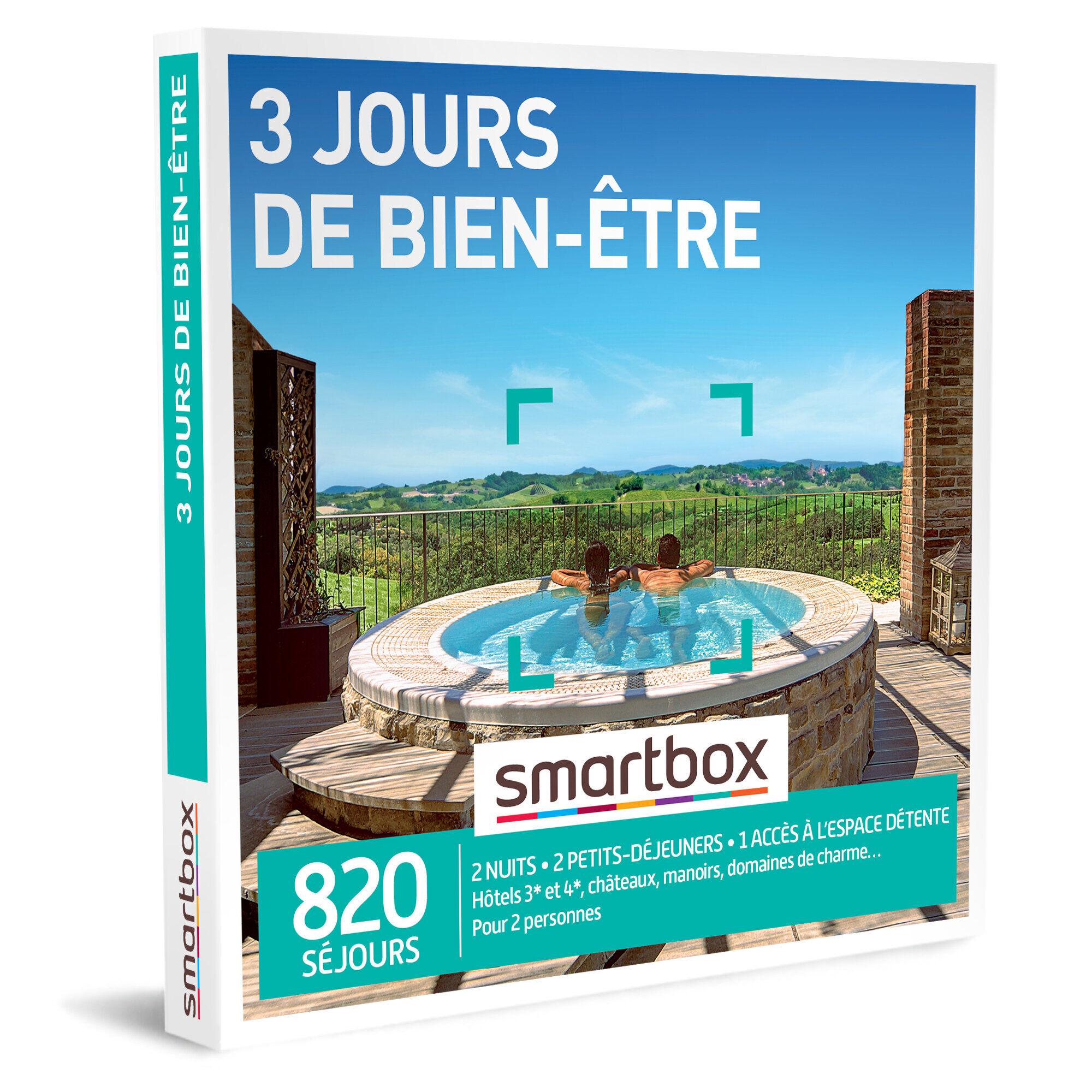 Smartbox 3 jours de bien-être Coffret cadeau Smartbox