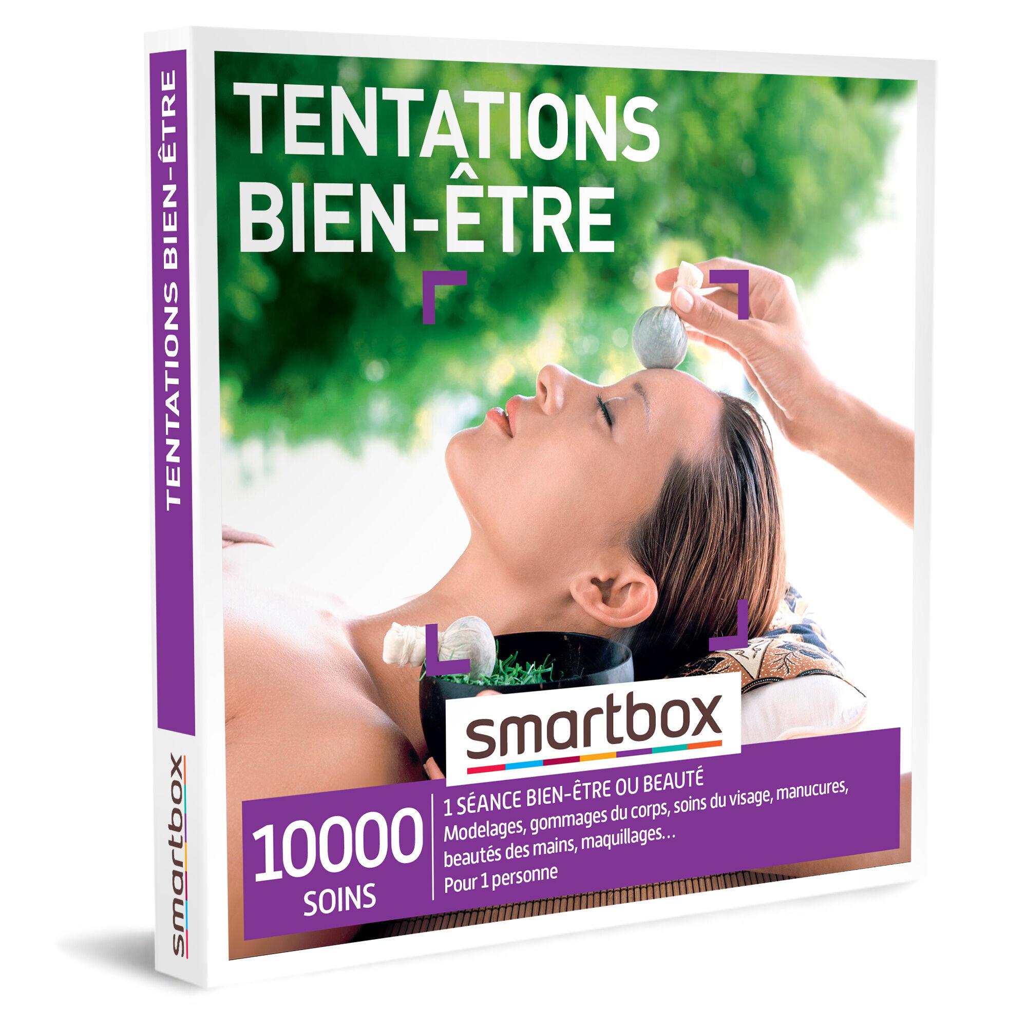 Smartbox Tentations bien-être Coffret cadeau Smartbox