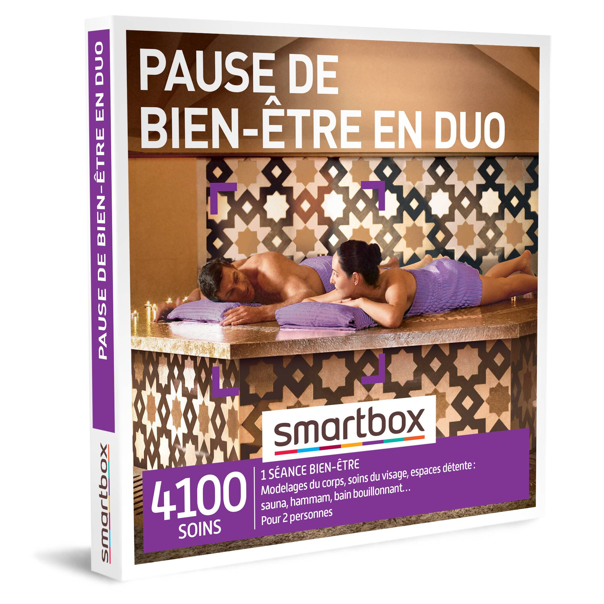 Smartbox Pause de bien-être en duo Coffret cadeau Smartbox
