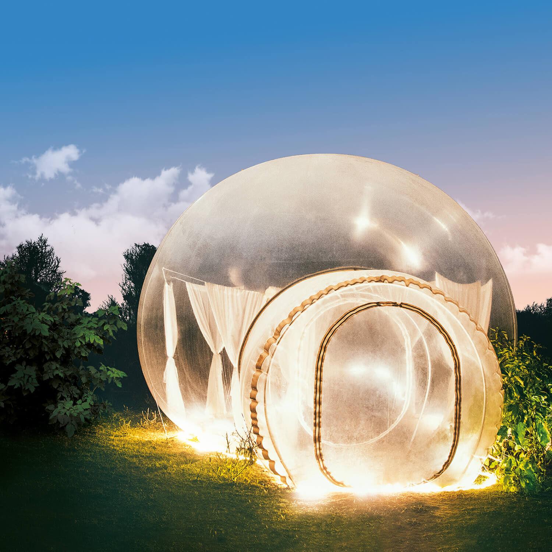 Smartbox Nuit insolite dans une bulle Coffret cadeau Smartbox