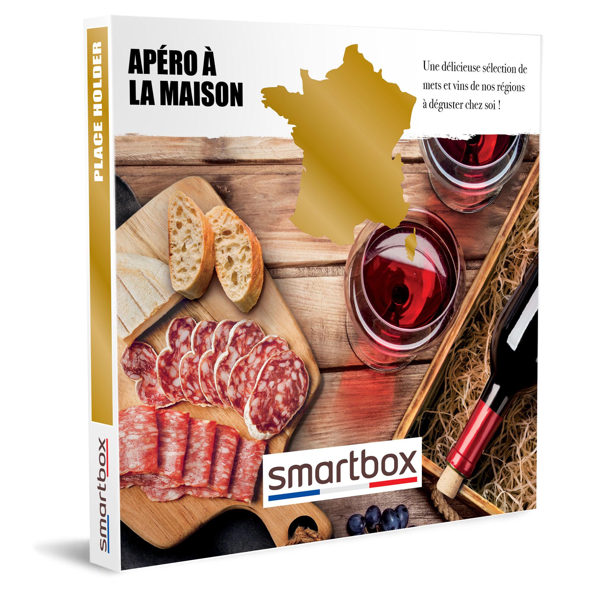 Smartbox Apéro à la maison Coffret cadeau Smartbox