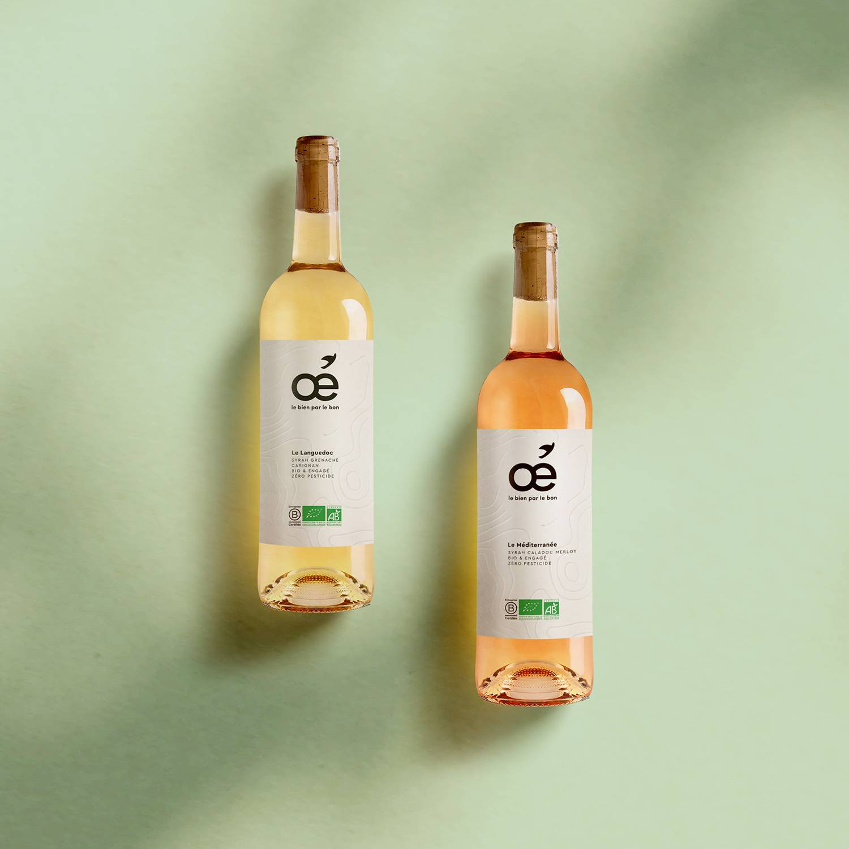 Smartbox Coffret Apéro viticole Languedoc blanc et Méditerranée rosé avec livraison à domicile Coffret cadeau Smartbox