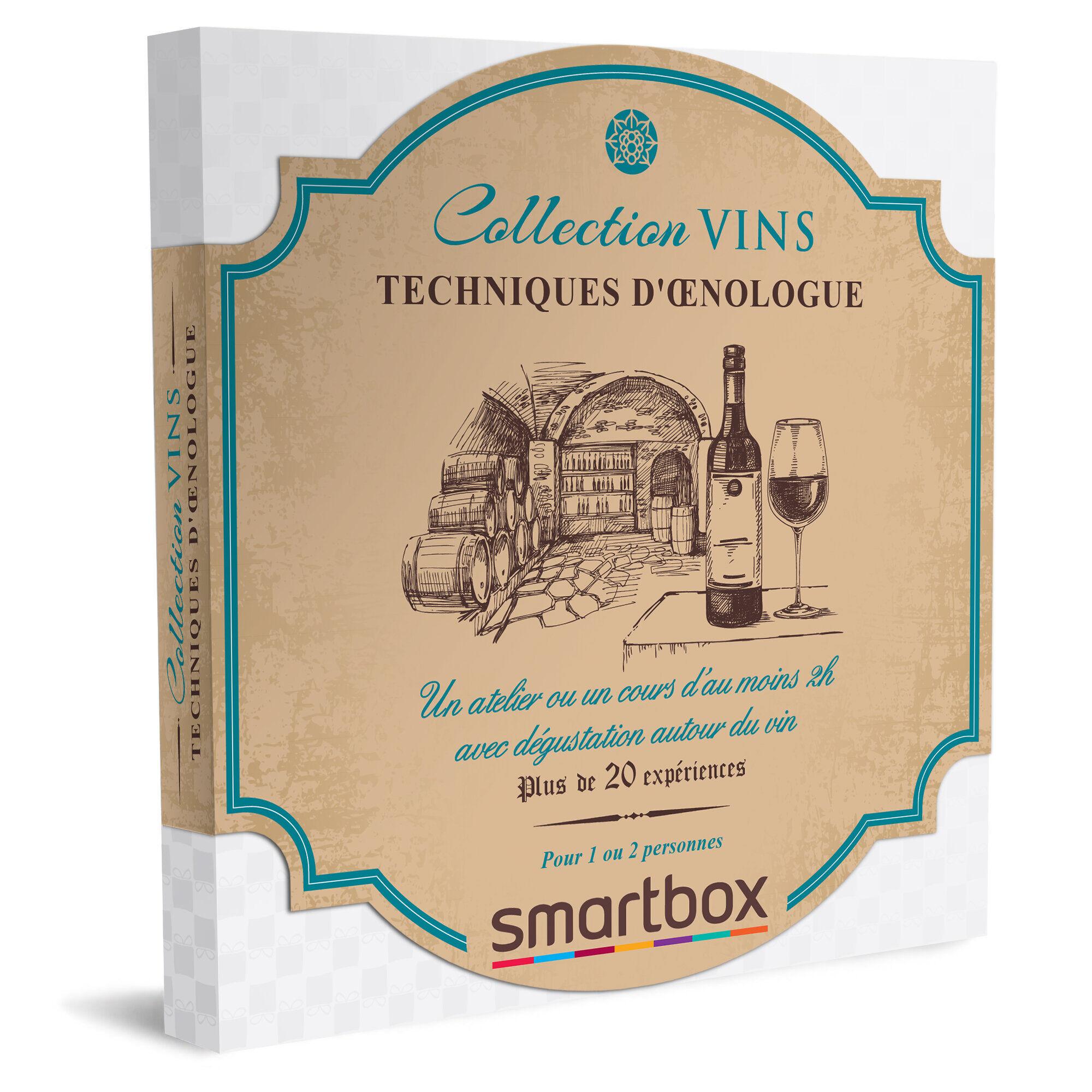 Smartbox Techniques d'œnologue Coffret cadeau Smartbox