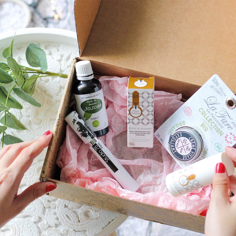 Smartbox Coffret produits de beauté bios et naturels à recevoir chez soi Coffret cadeau Smartbox