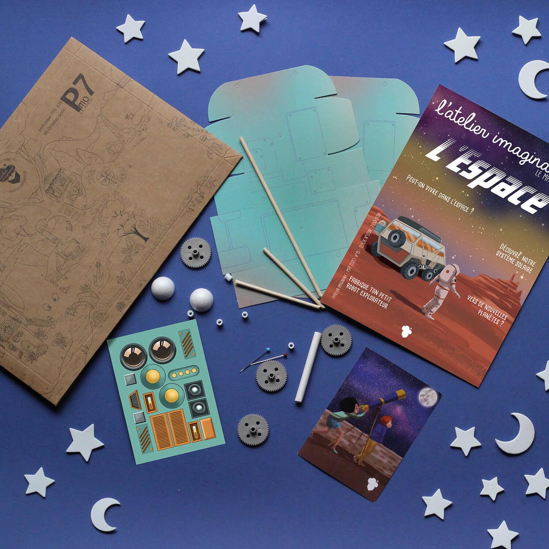 Smartbox Pack thématique de 3 activités créatives et manuelles passionnantes pour enfant Coffret cadeau Smartbox
