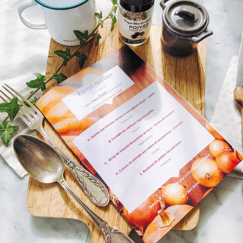 Smartbox Livraison à domicile d'un kit prêt-à-cuisiner Tradi de 3 recettes à découvrir en duo Coffret cadeau Smartbox