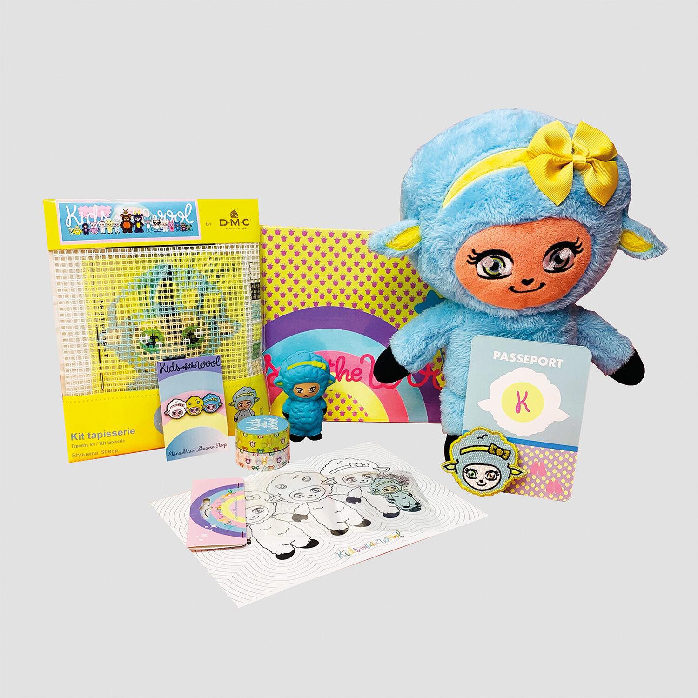 Smartbox Box créative Moutons d'activités manuelles et ludiques pour enfant Coffret cadeau Smartbox