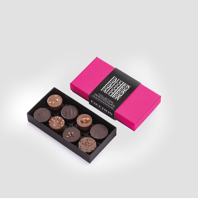 Smartbox Écrin de 8 chocolats Collection de la maison Fauchon à recevoir Coffret cadeau Smartbox