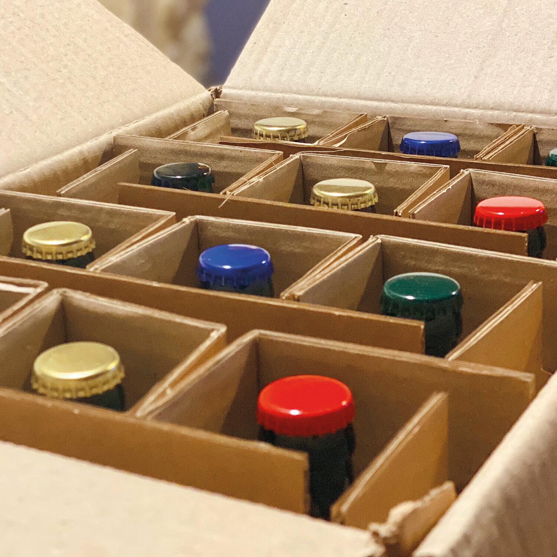Smartbox Pack découverte de 12 bières fermières bio à déguster à la maison Coffret cadeau Smartbox