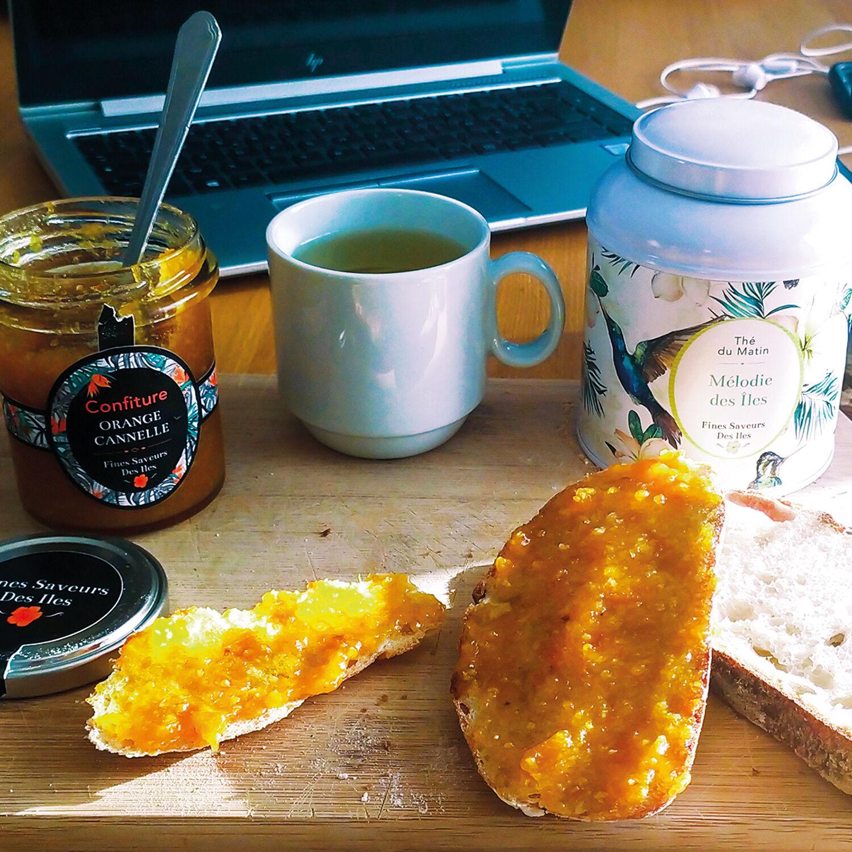 Smartbox Panier gourmand pour un petit-déjeuner exotique à la maison Coffret cadeau Smartbox