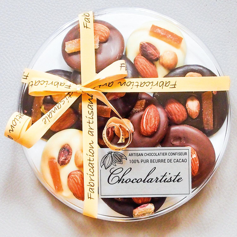 Smartbox Assortiment gourmand de chocolats à déguster à la maison Coffret cadeau Smartbox