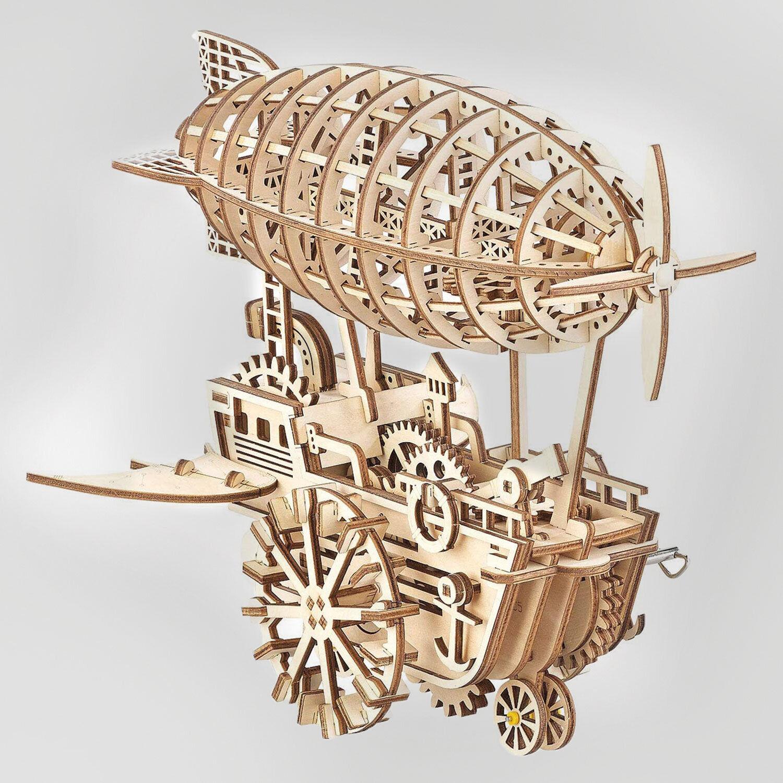 Smartbox Maquette mécanique en bois au choix à monter Coffret cadeau Smartbox