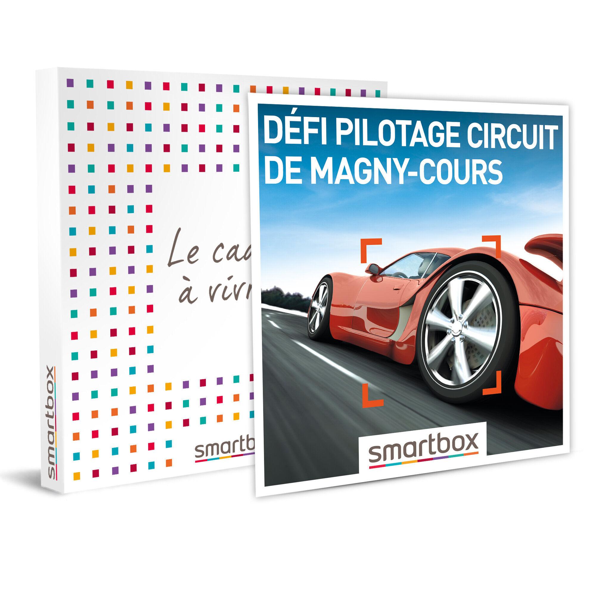 Smartbox Défi pilotage circuit de Magny-Cours Coffret cadeau Smartbox