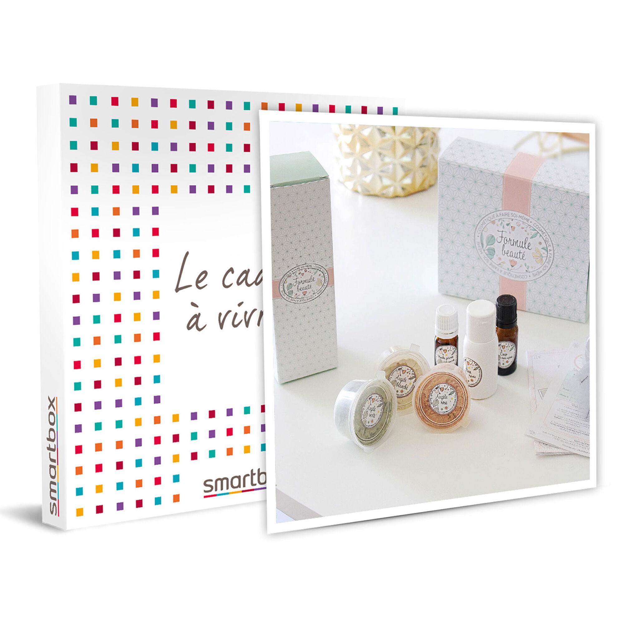 Smartbox Box de produits Formule Beauté bio à fabriquer soi-même Coffret cadeau Smartbox