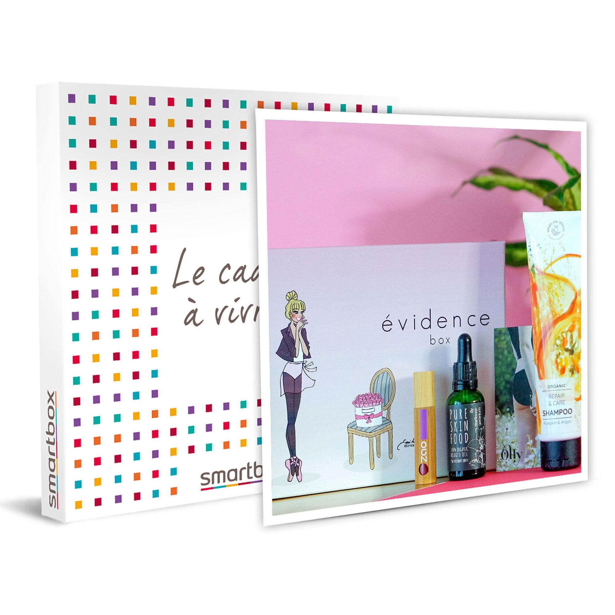 Smartbox Box de cosmétiques bio à domicile Coffret cadeau Smartbox